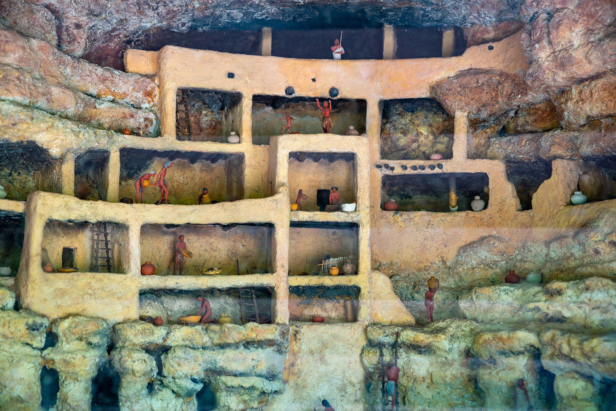 Montezuma Castle Diorama