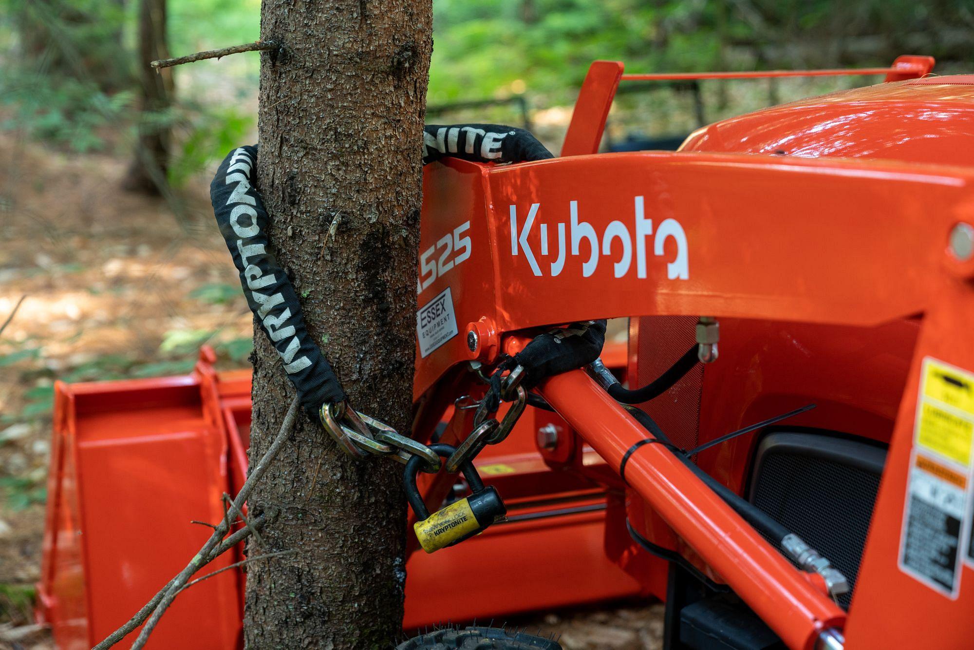 Kubota Tractor Security