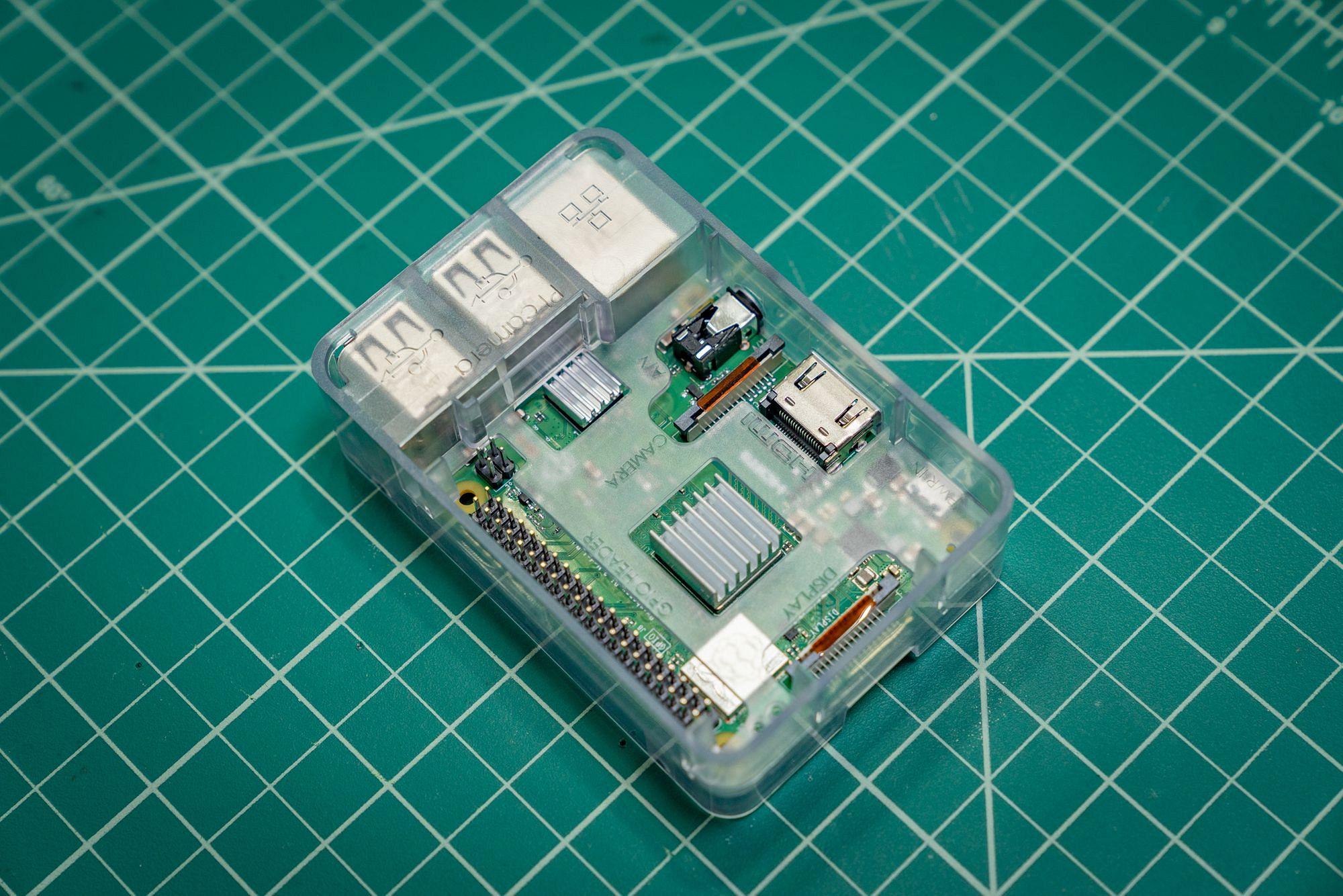 Raspberry Pi 3 Assembled
