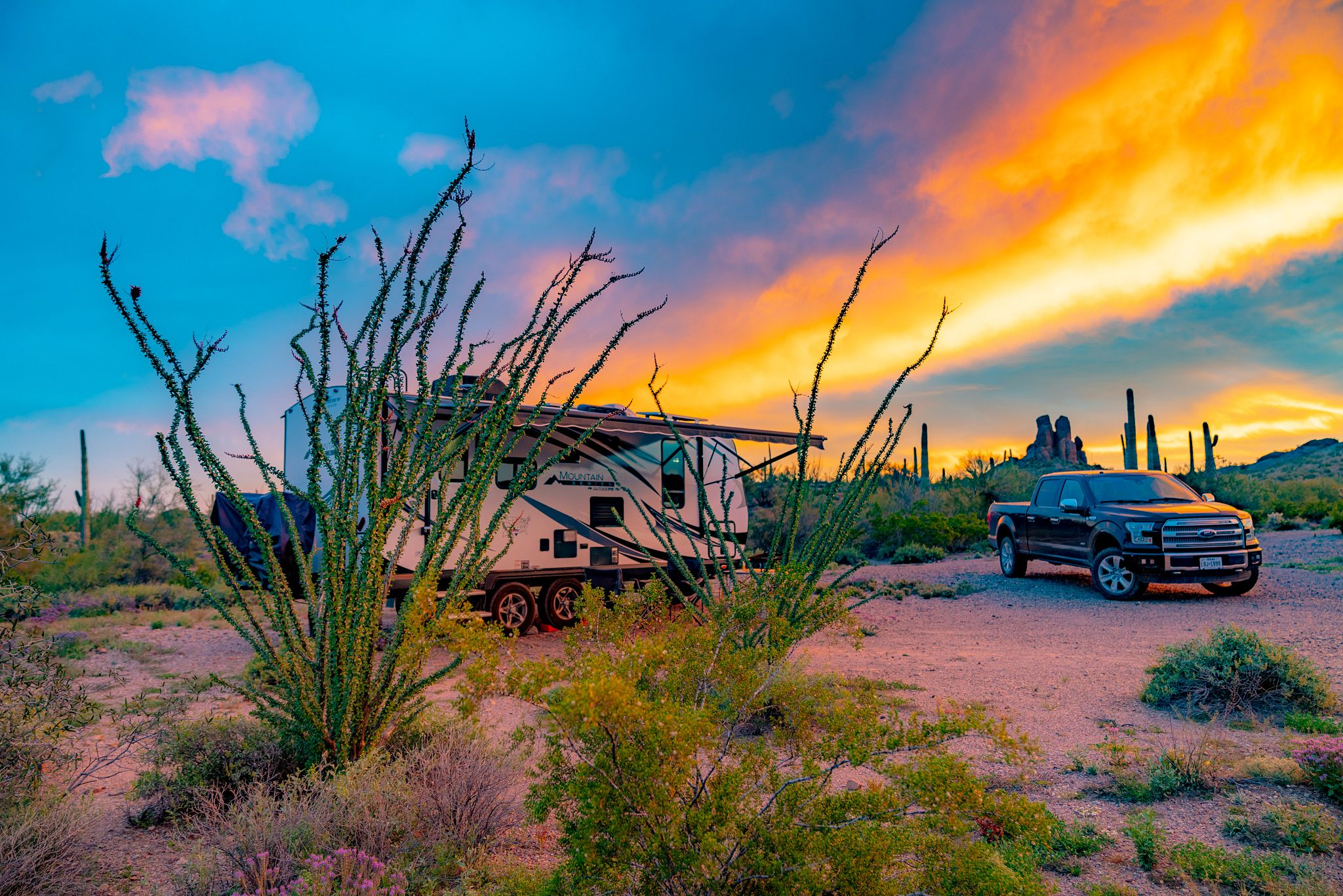 Darby Well Road Boondocking