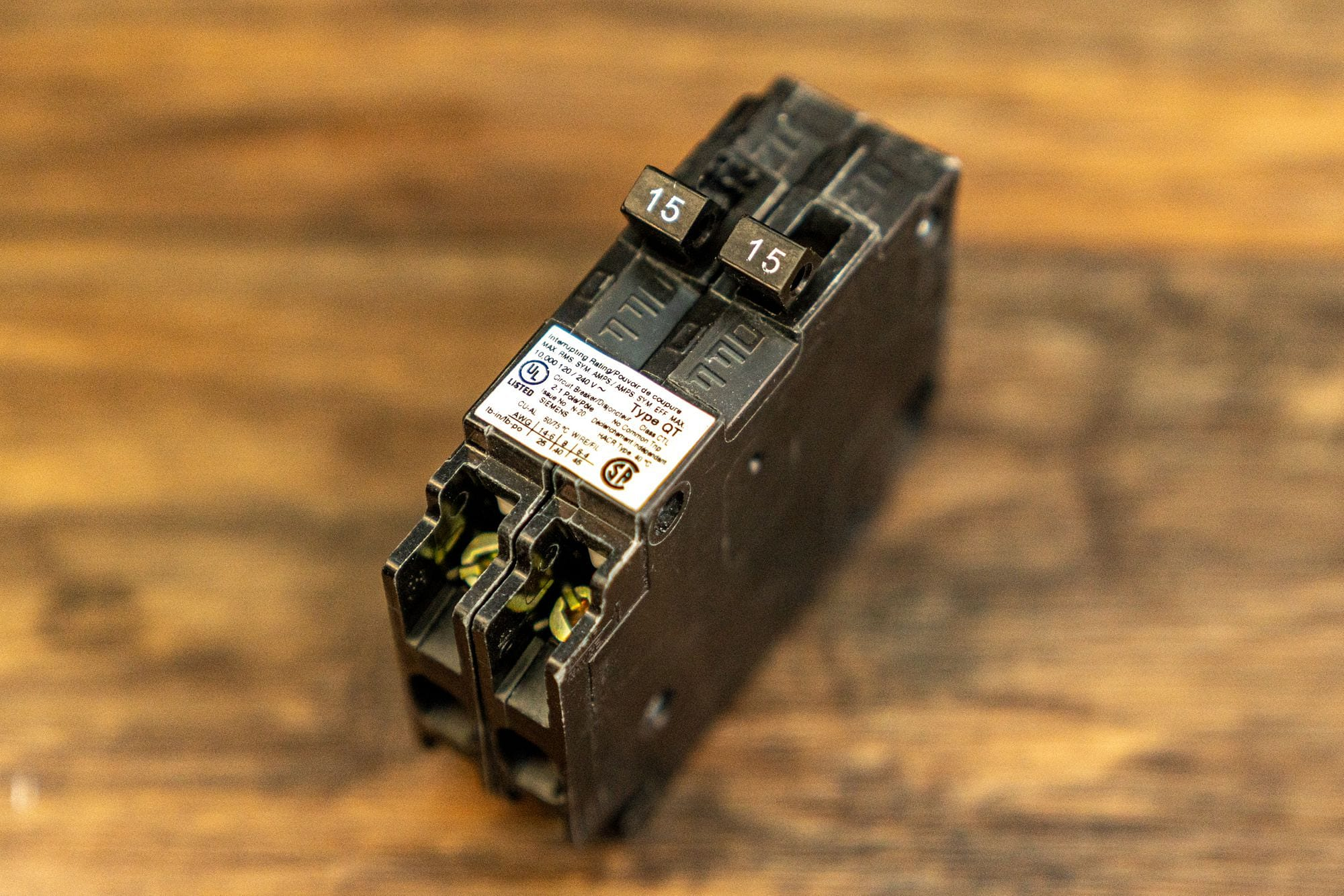 Siemens Q1515 Tandem Breaker