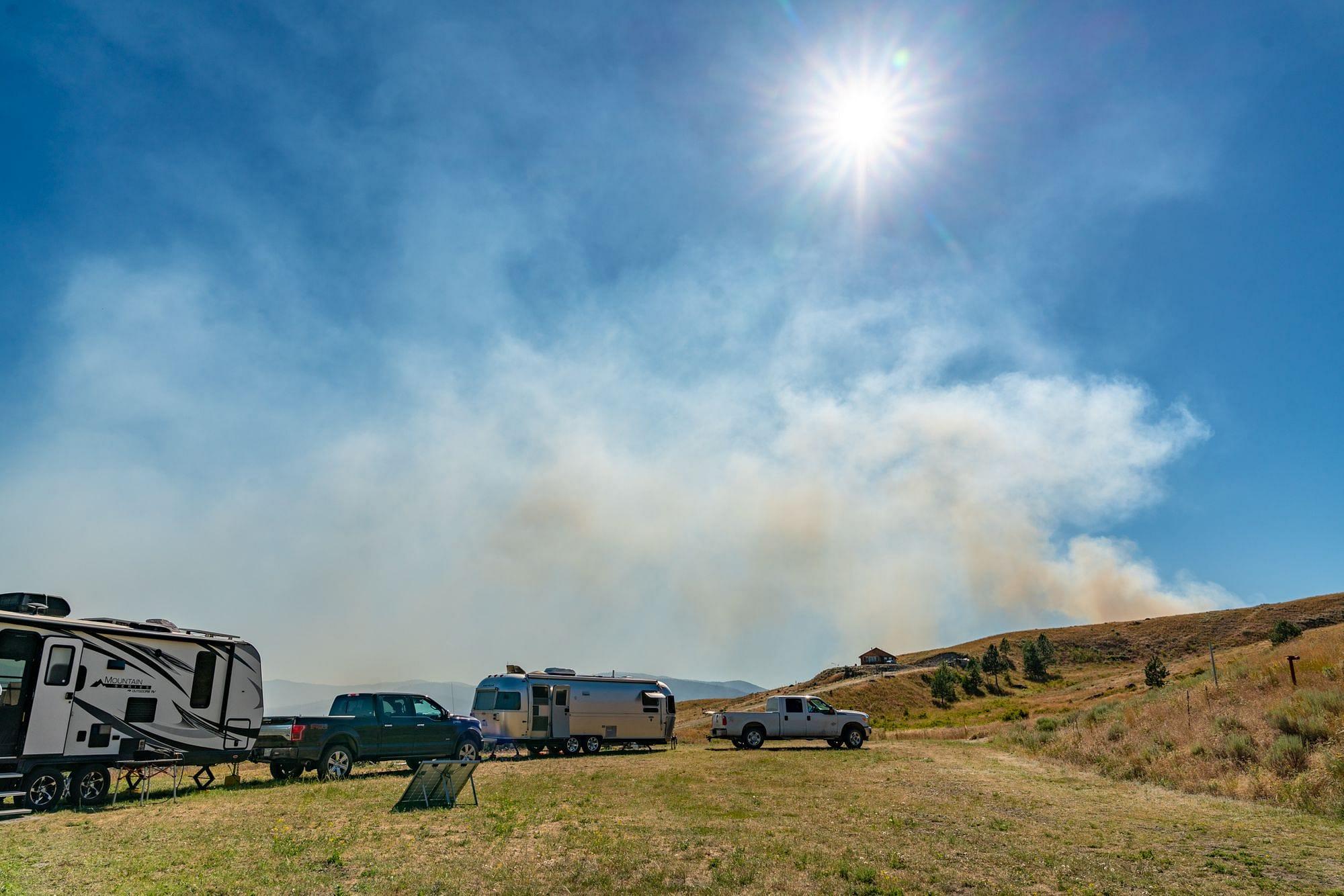 Long Lake Fire Tonasket