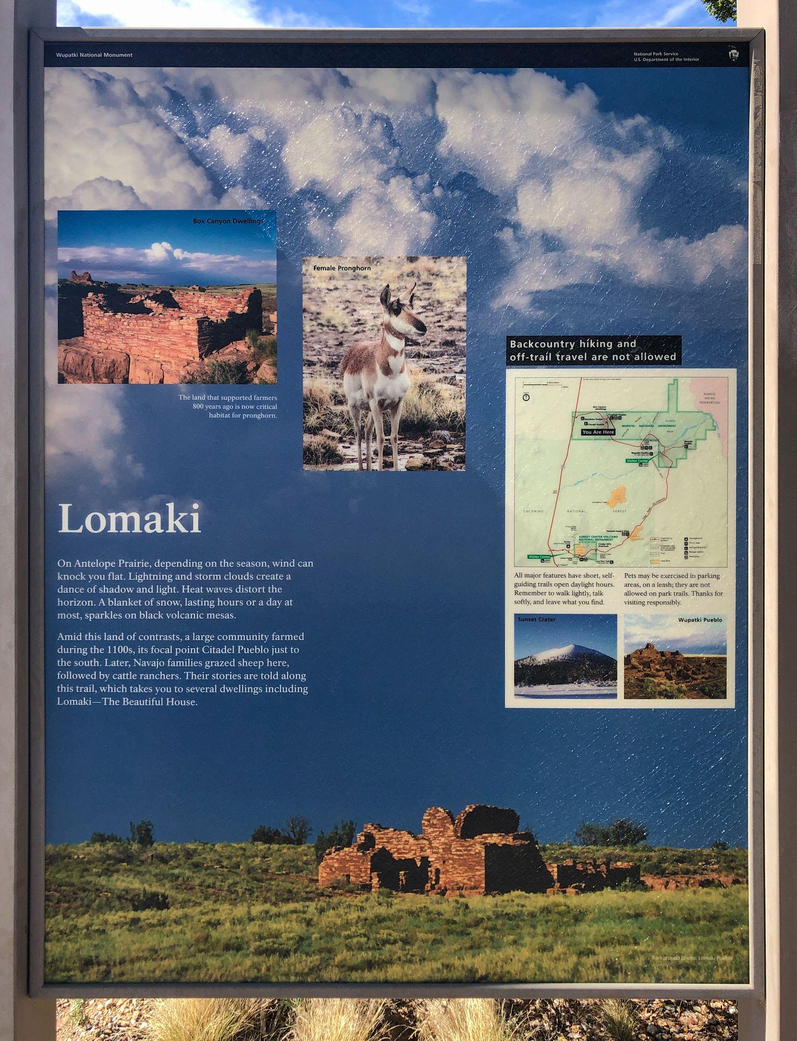 Lomaki Trail