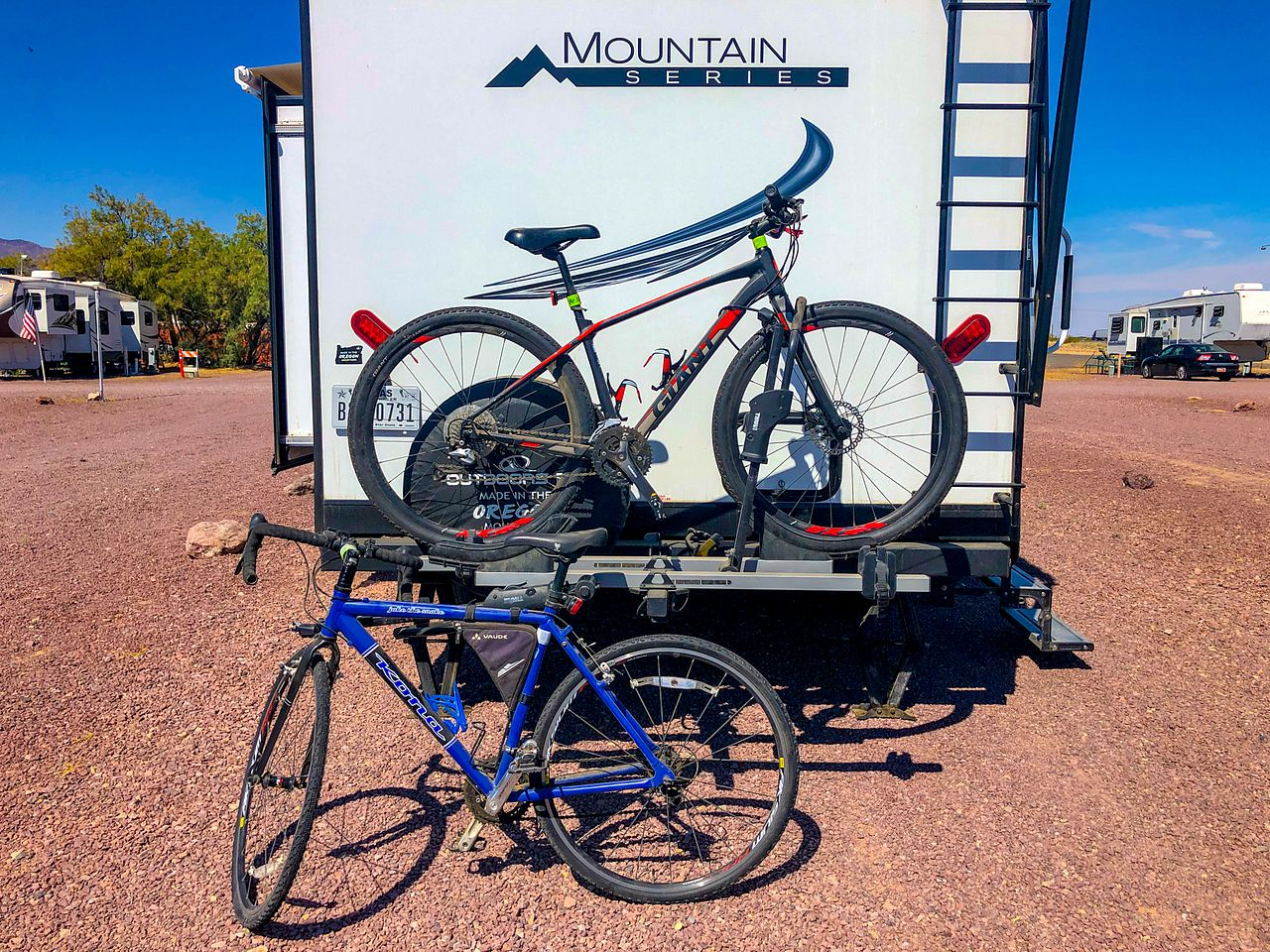 Carrying Bikes on our RV