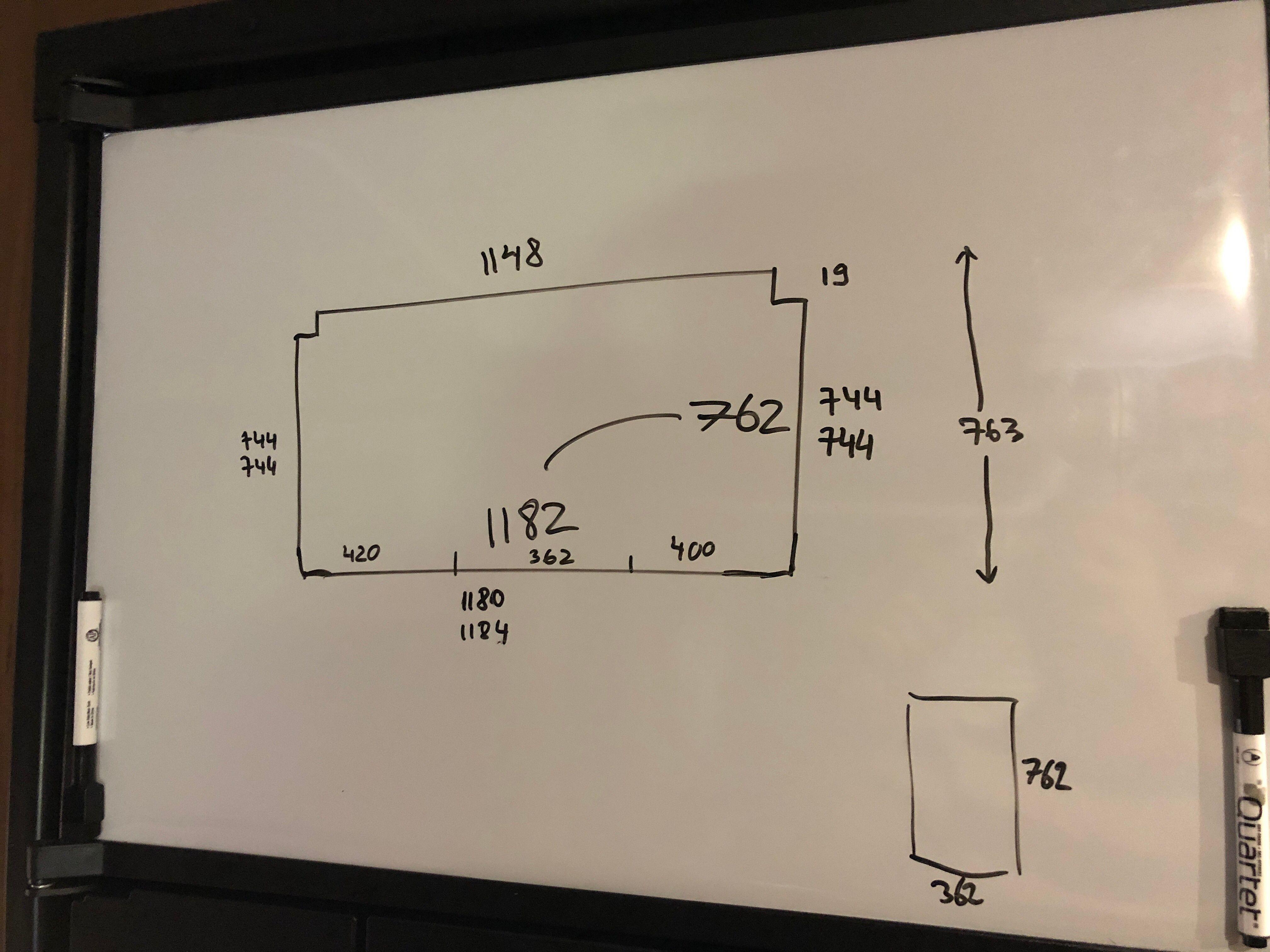 Diagram of the shelf