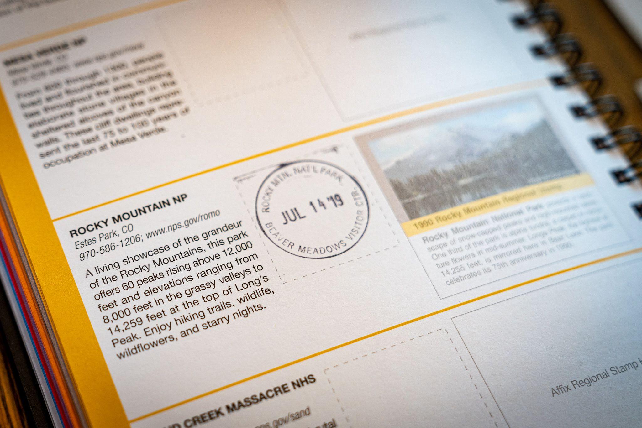 Rocky Mountain Passport Stamp