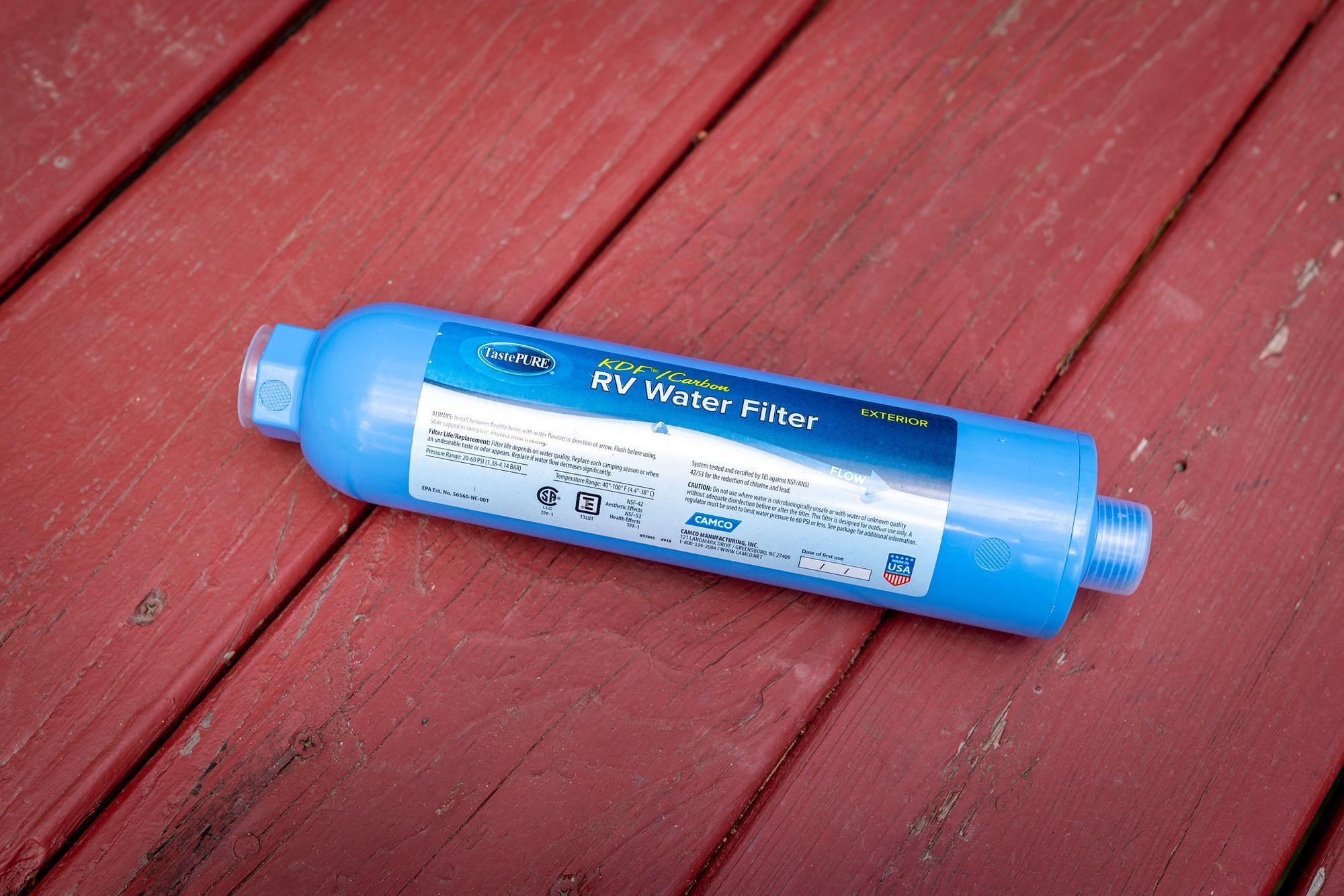RV Water Filter