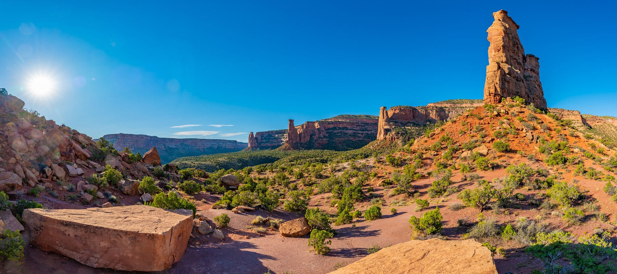 Monument Canyon Panorama