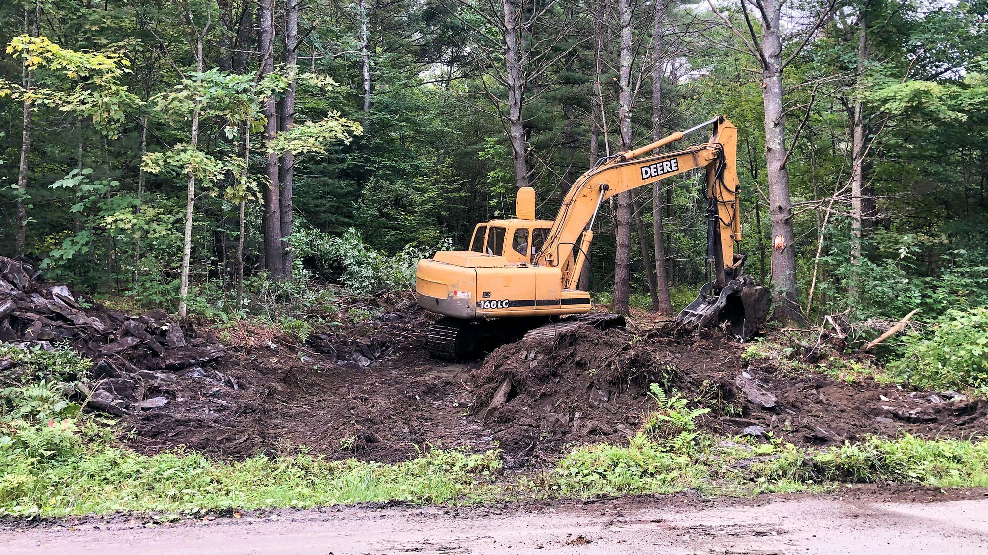 Starting Driveway Construction