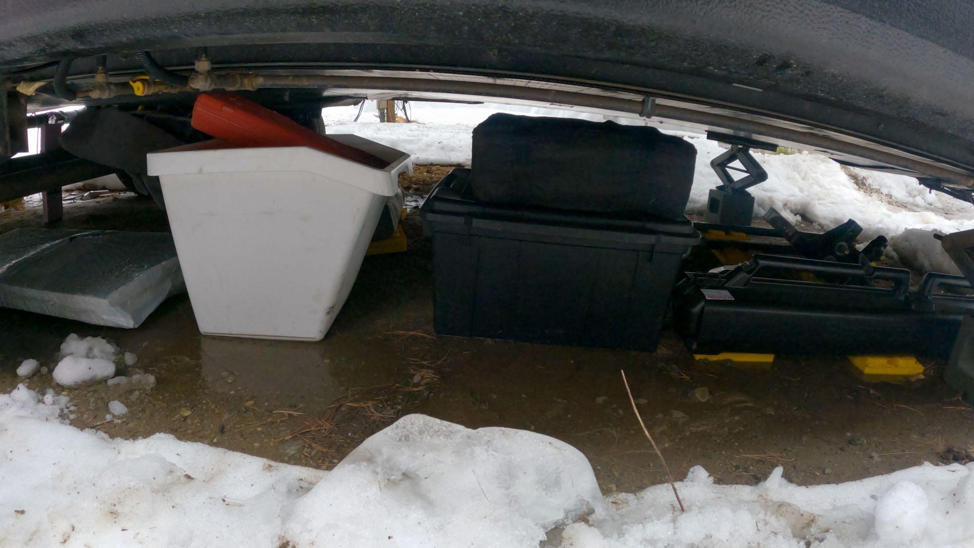 Under RV Storage