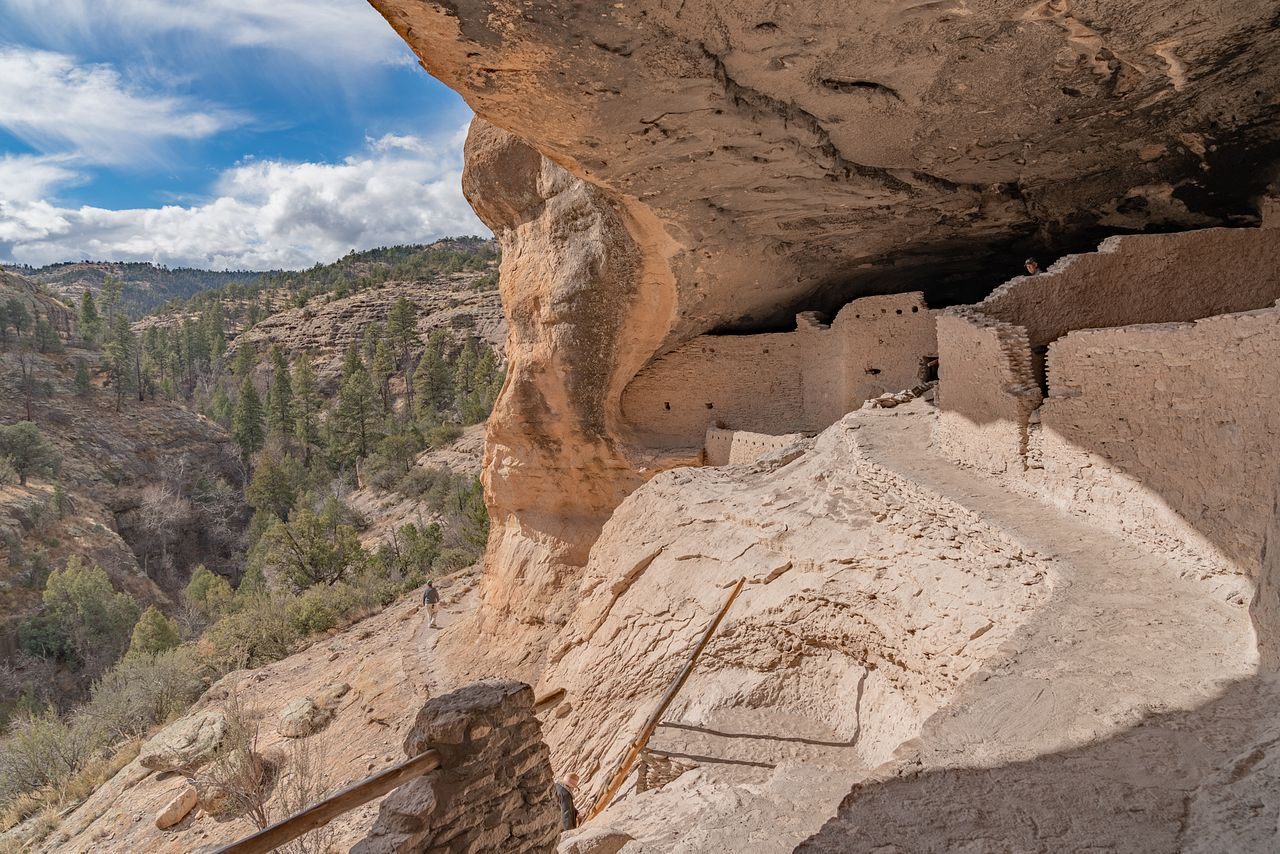 Gila Cliff Dwellings National Monument - Home of the Mogollon