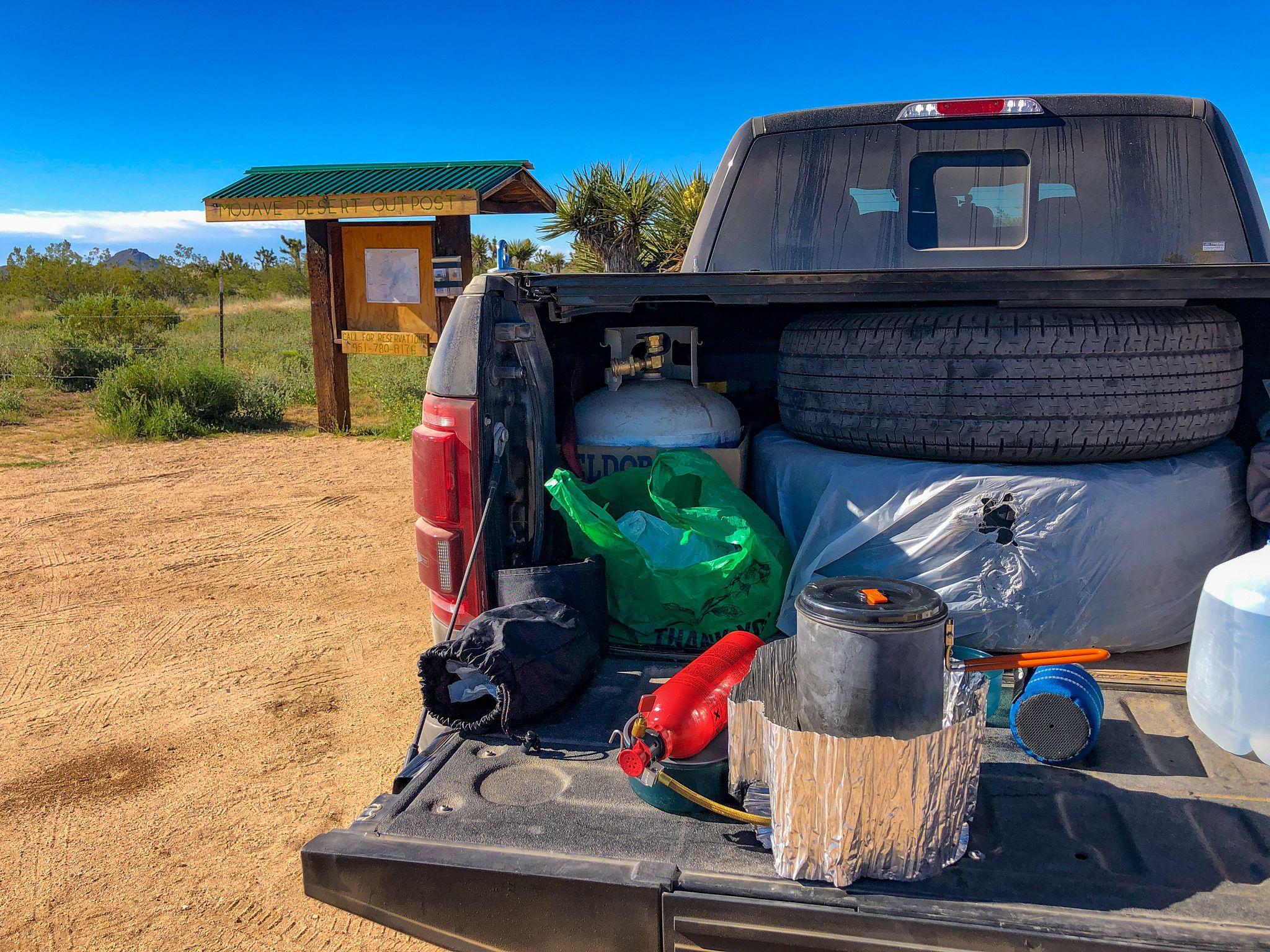 Mojave Road Tailgating