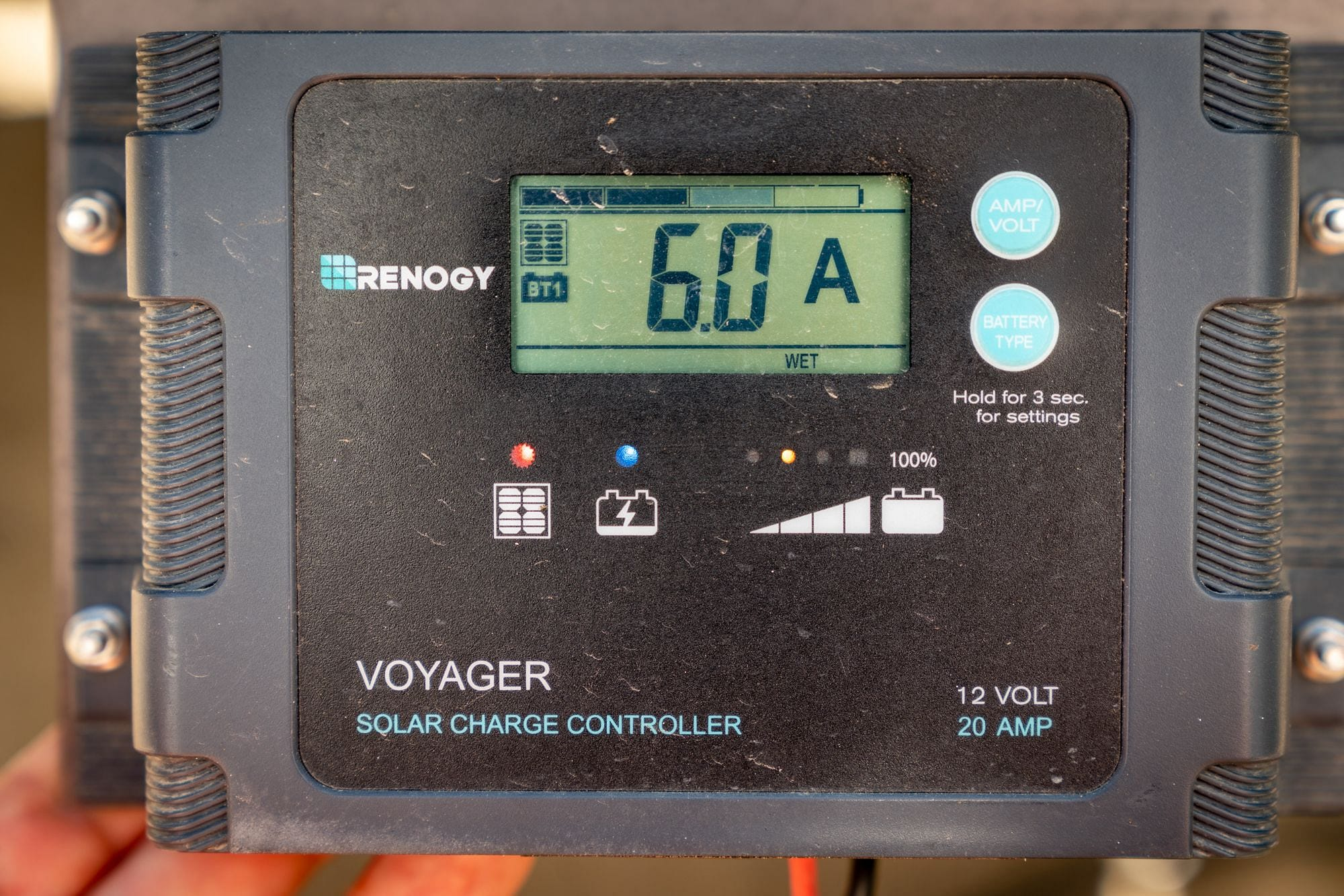 Voyager Solar Charge Controller