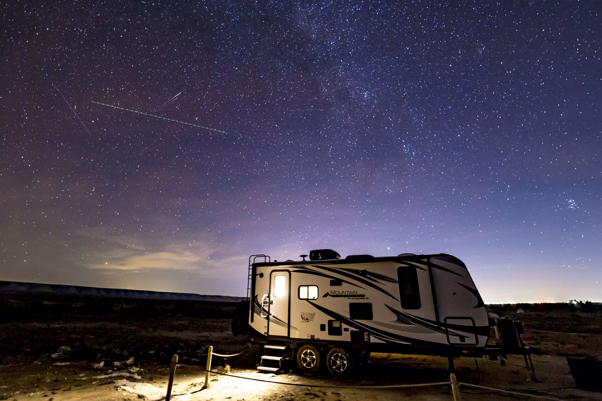 Stars Above our Trailer