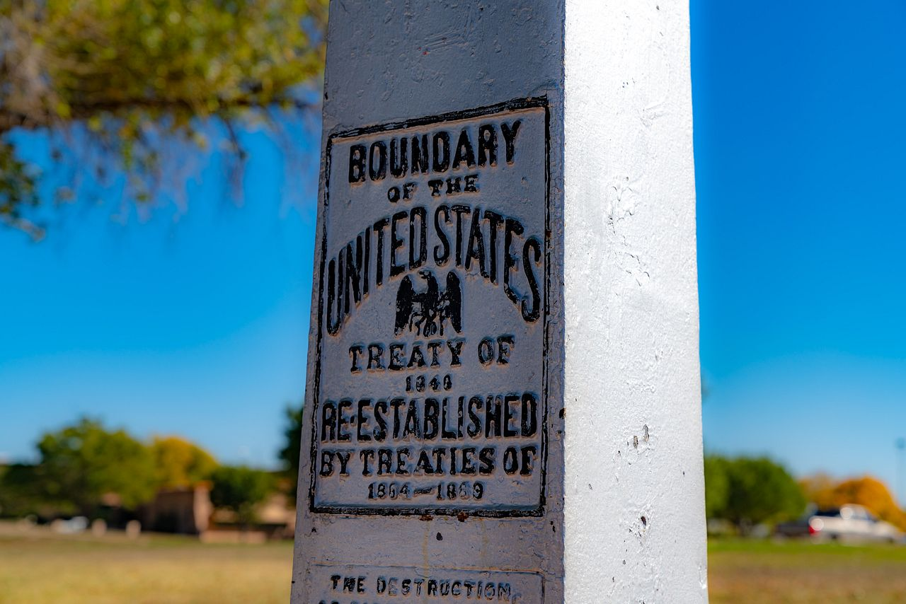 Chamizal National Memorial - History in El Paso