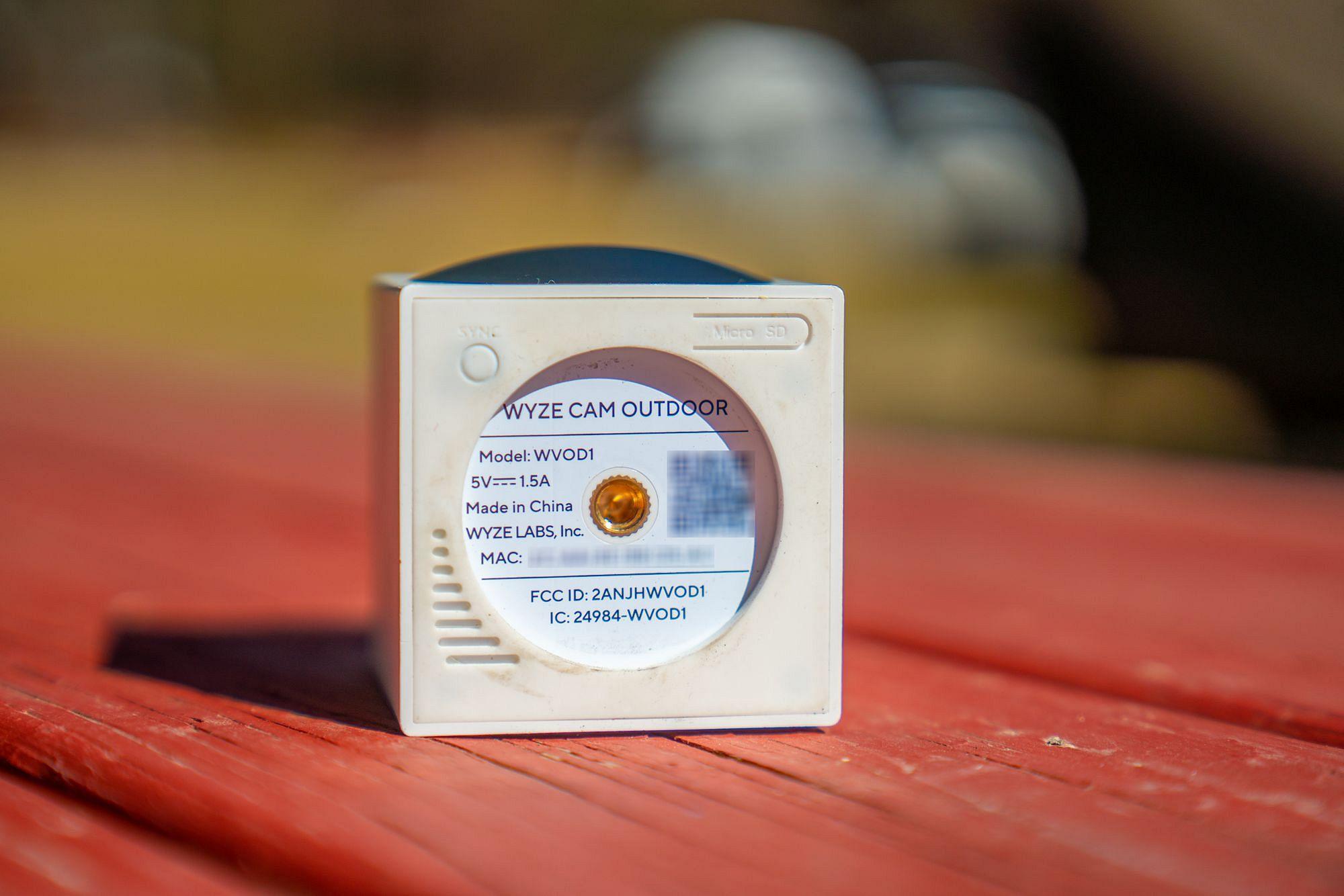 Wyze Cam Outdoor Magnetic Mount