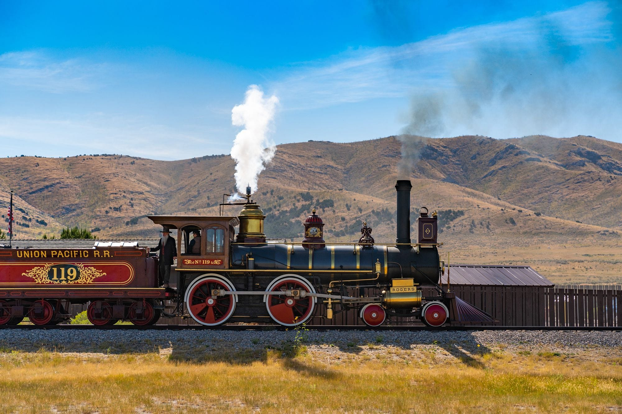 No 119 at Golden Spike
