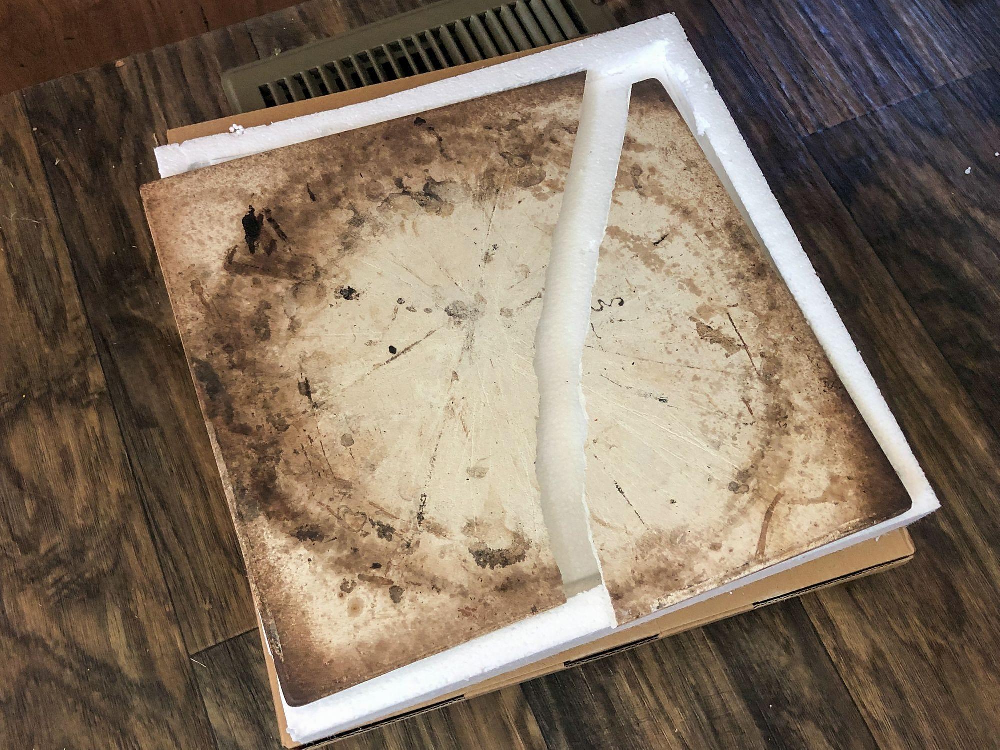 Broken Pizza Stone