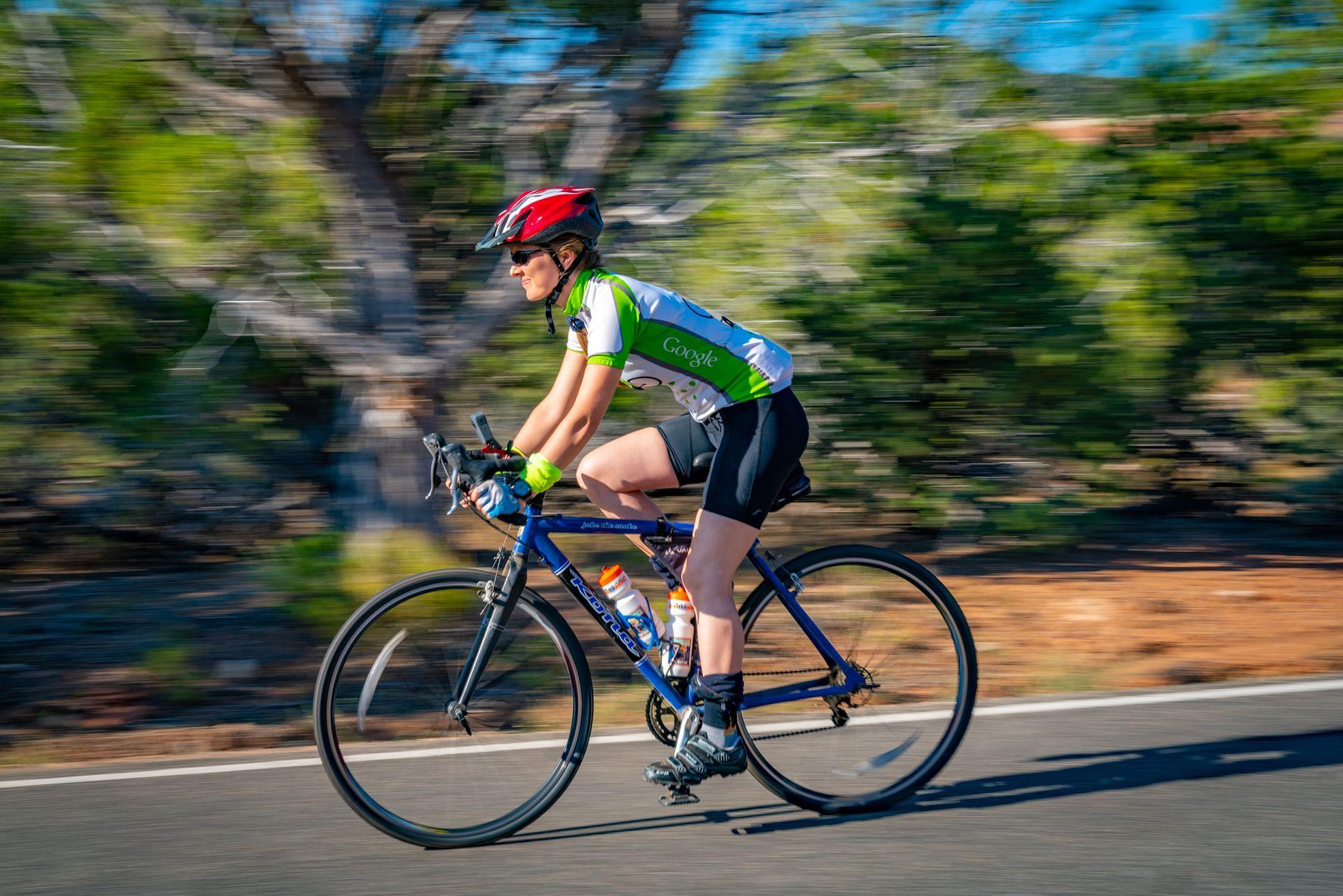 Cycling Rim Rock Drive