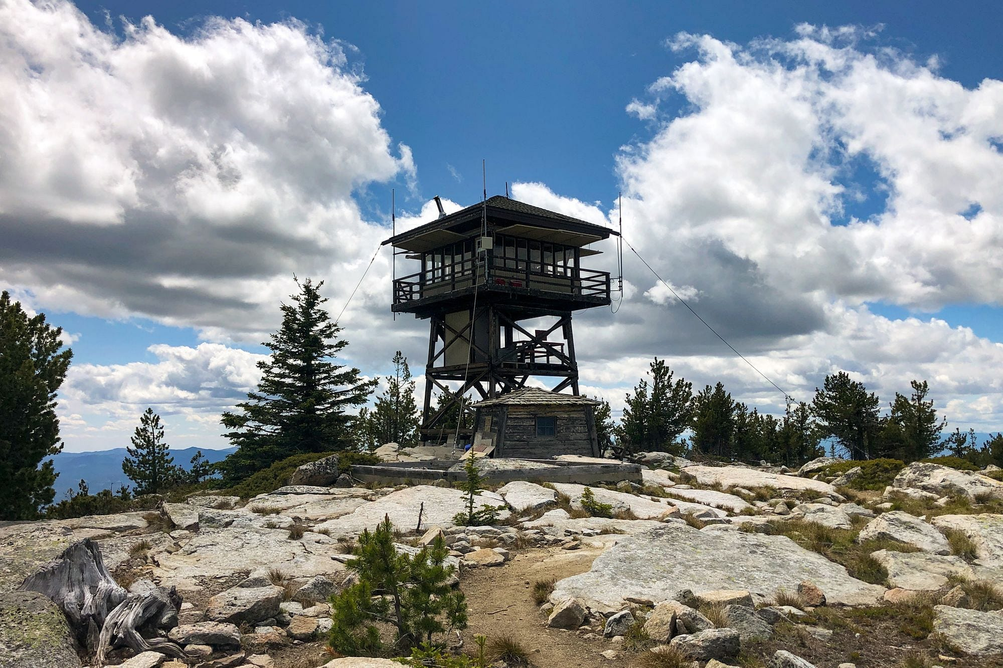 Mount Bonaparte Fire Lookout
