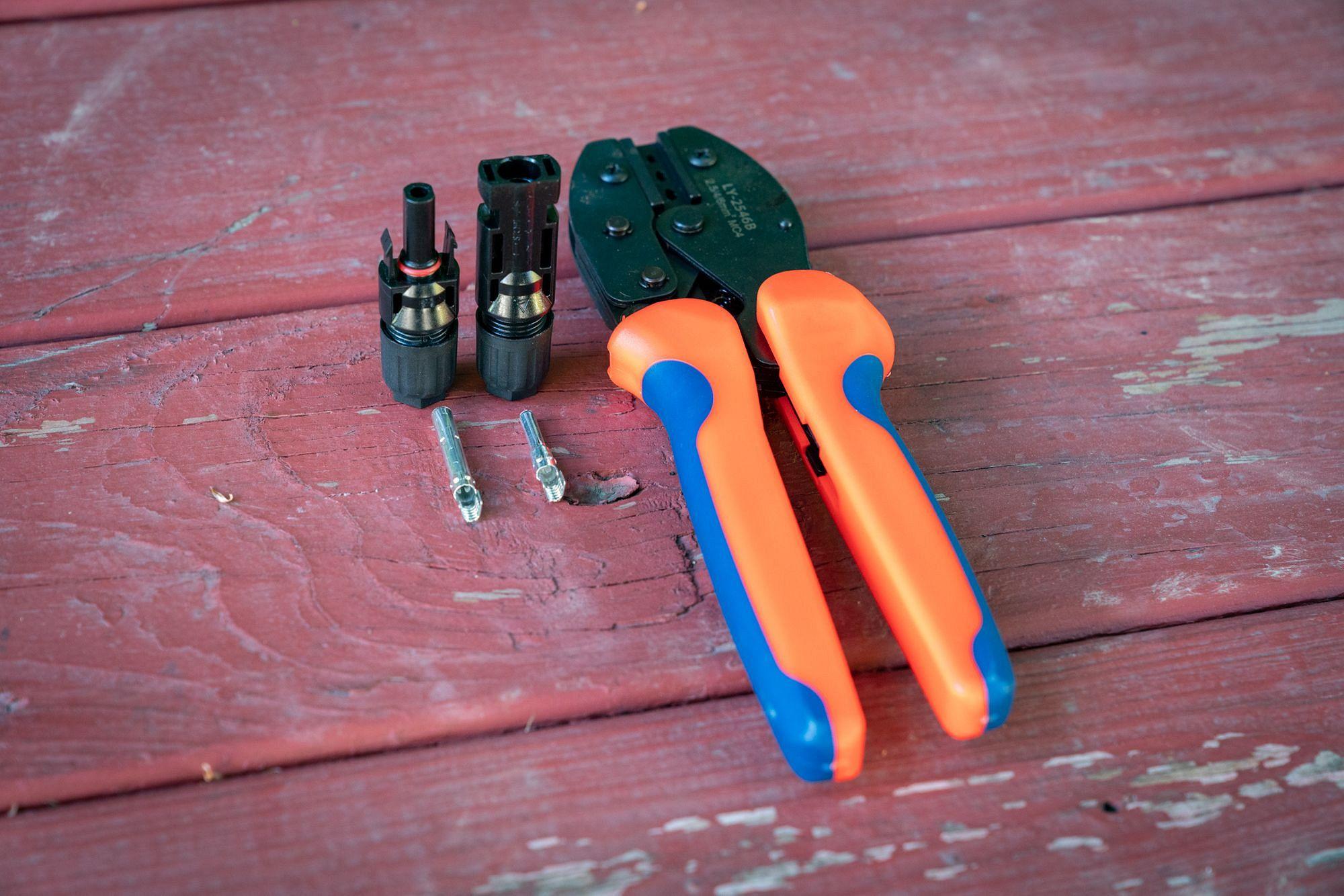 BougeRV MC4 Solar Crimping Tool