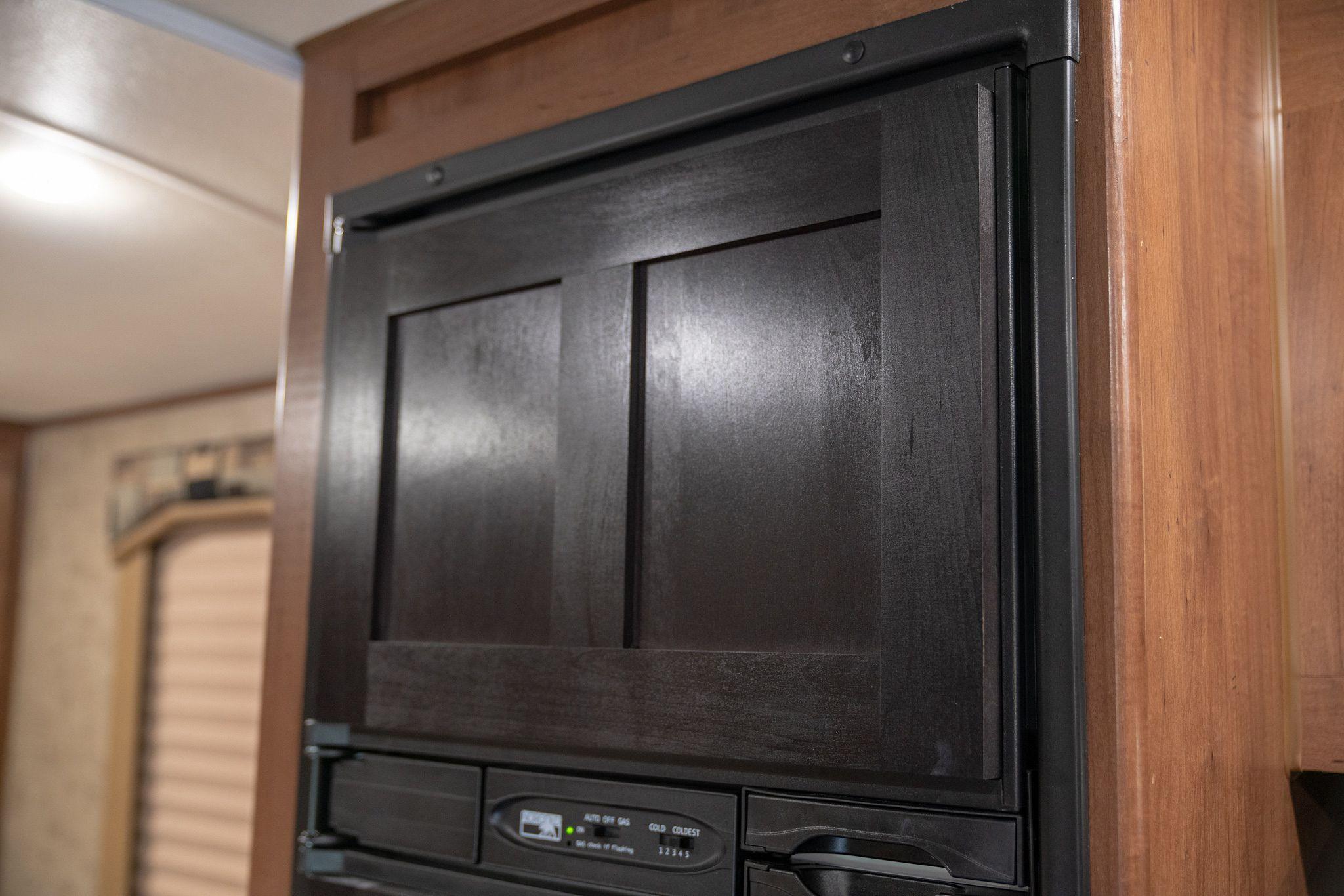 RV Freezer Door