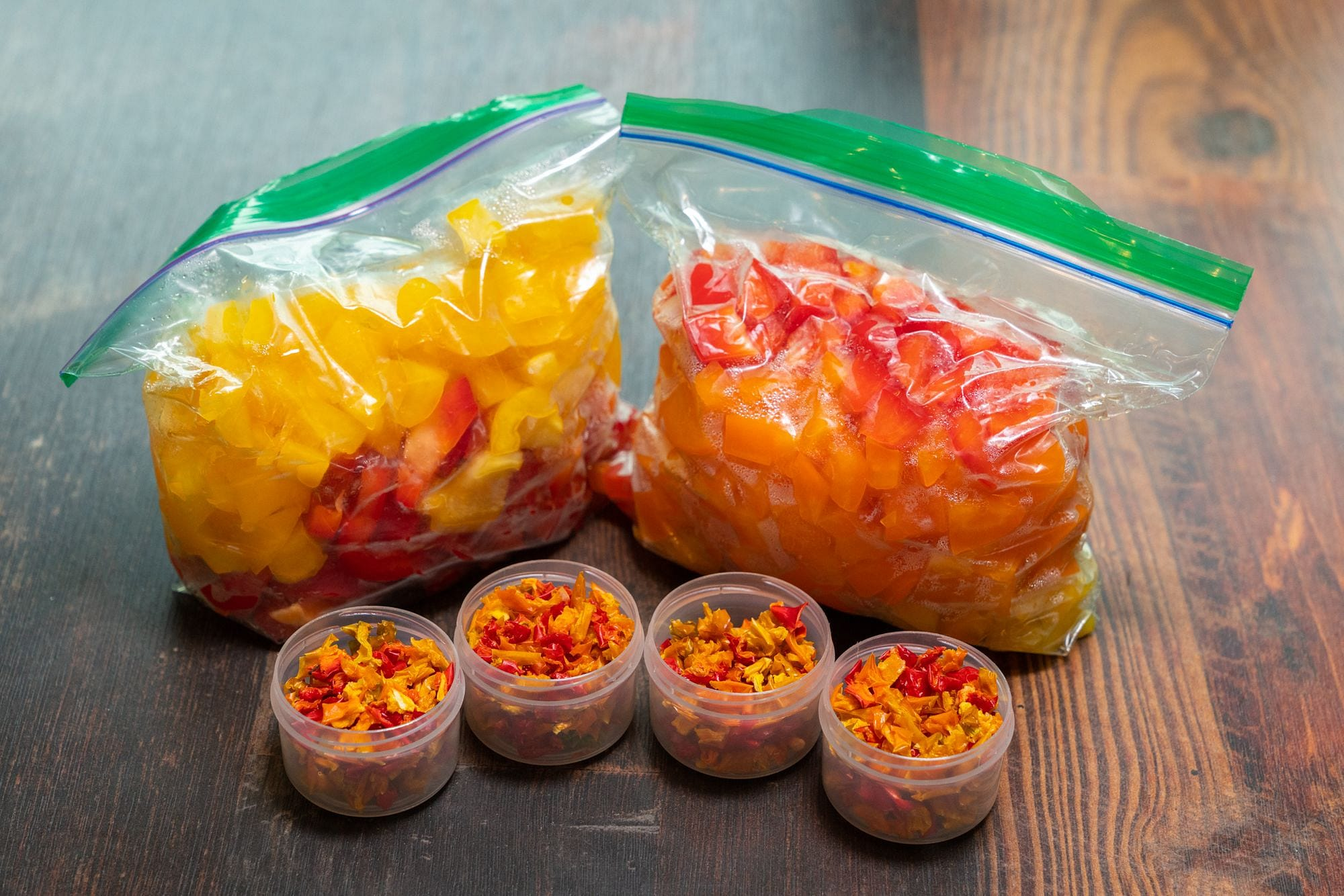 Dehydrated Bell Peppers