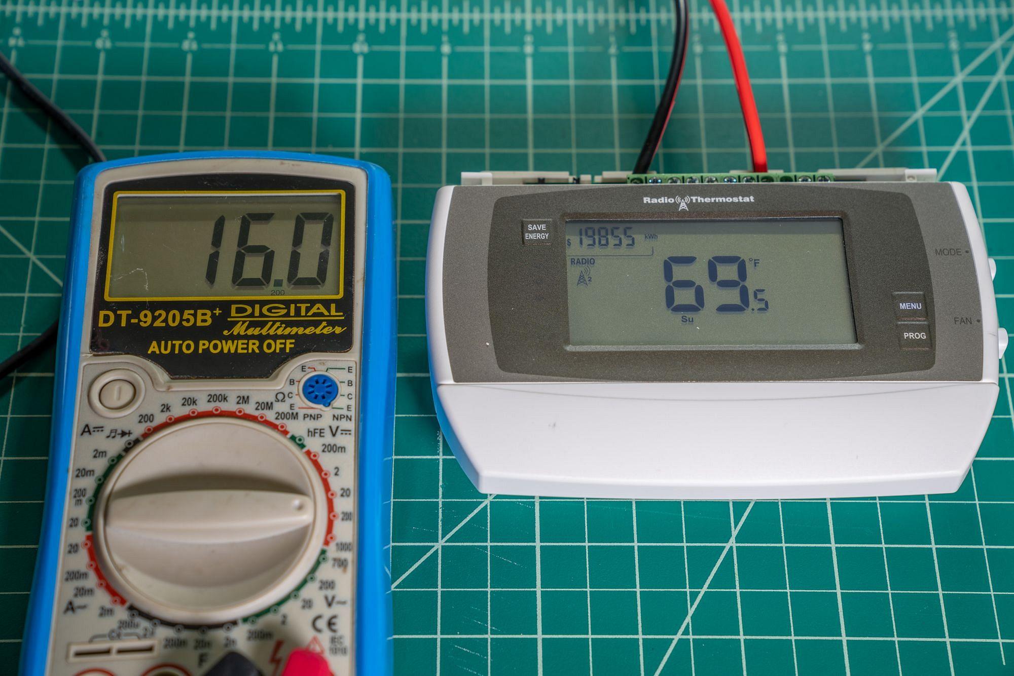 CT50 Thermostat 16V