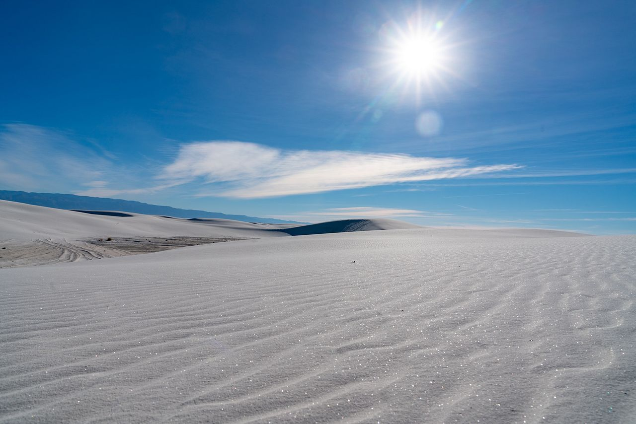 White Sands National Monument - World's Largest Gypsum Dunes