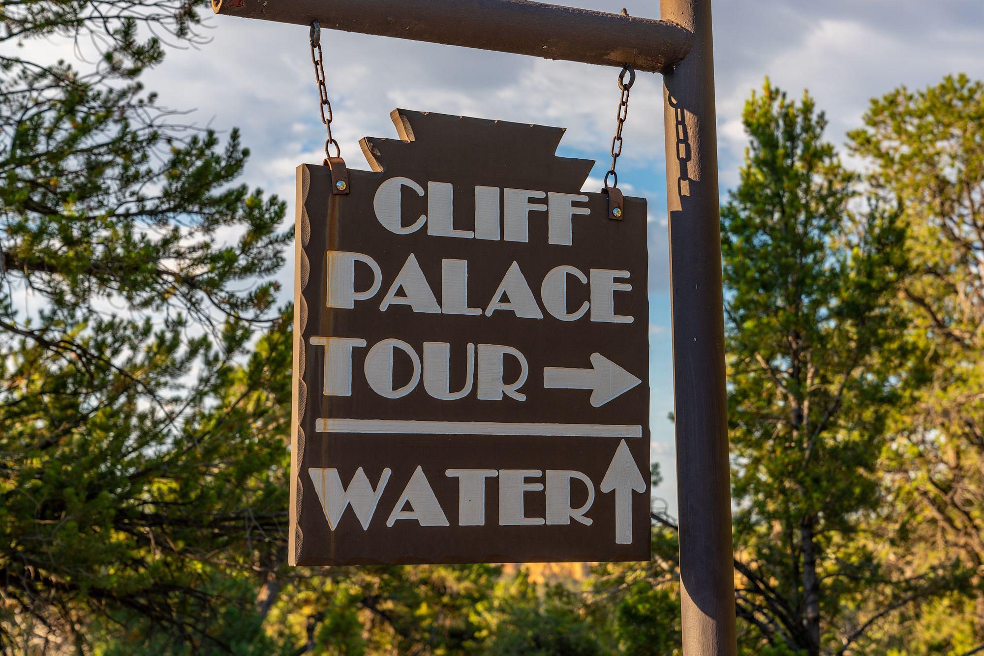 Cliff Palace Tour Rendezvous Point