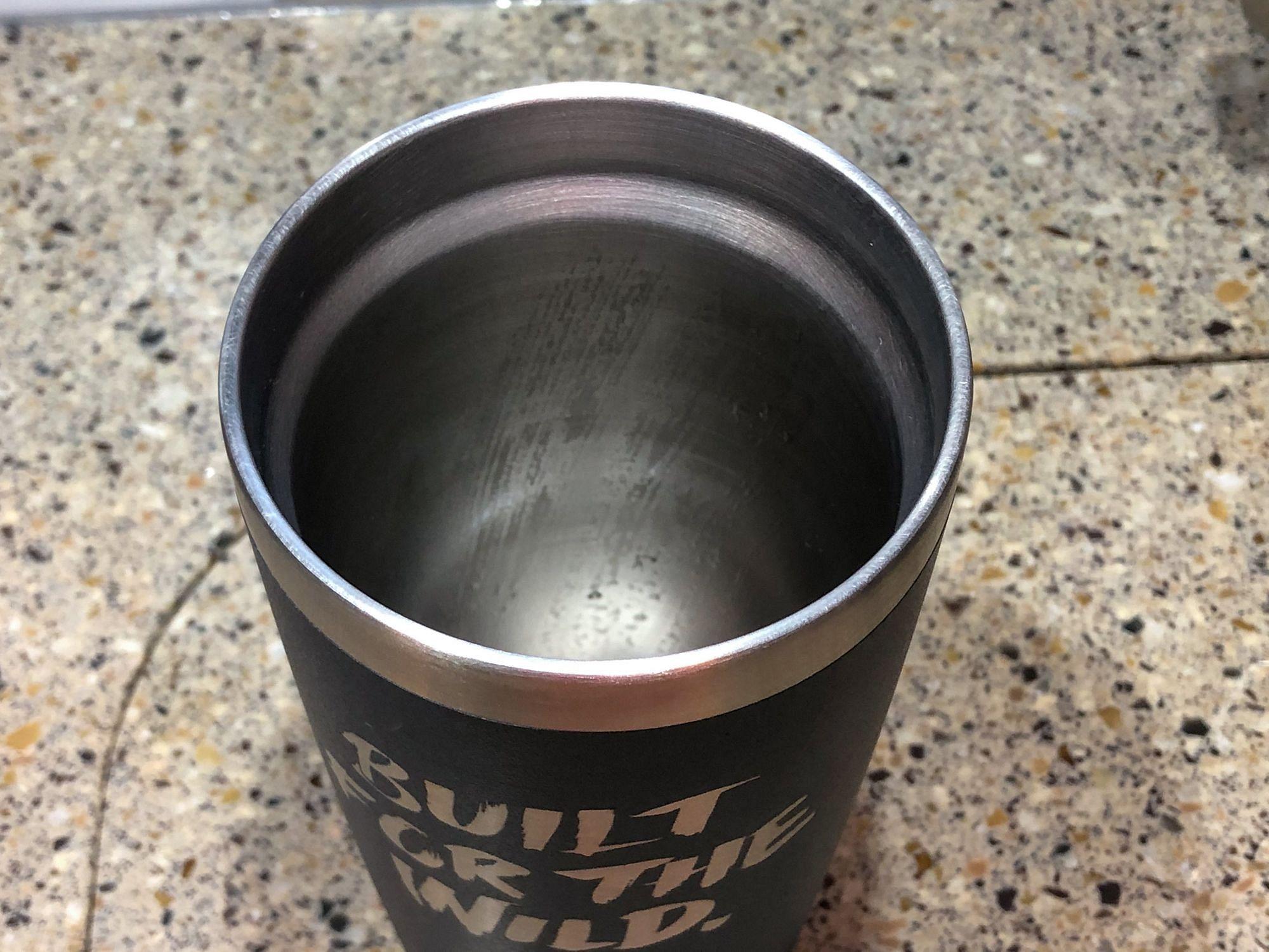 Clean Stainless Steel Mug