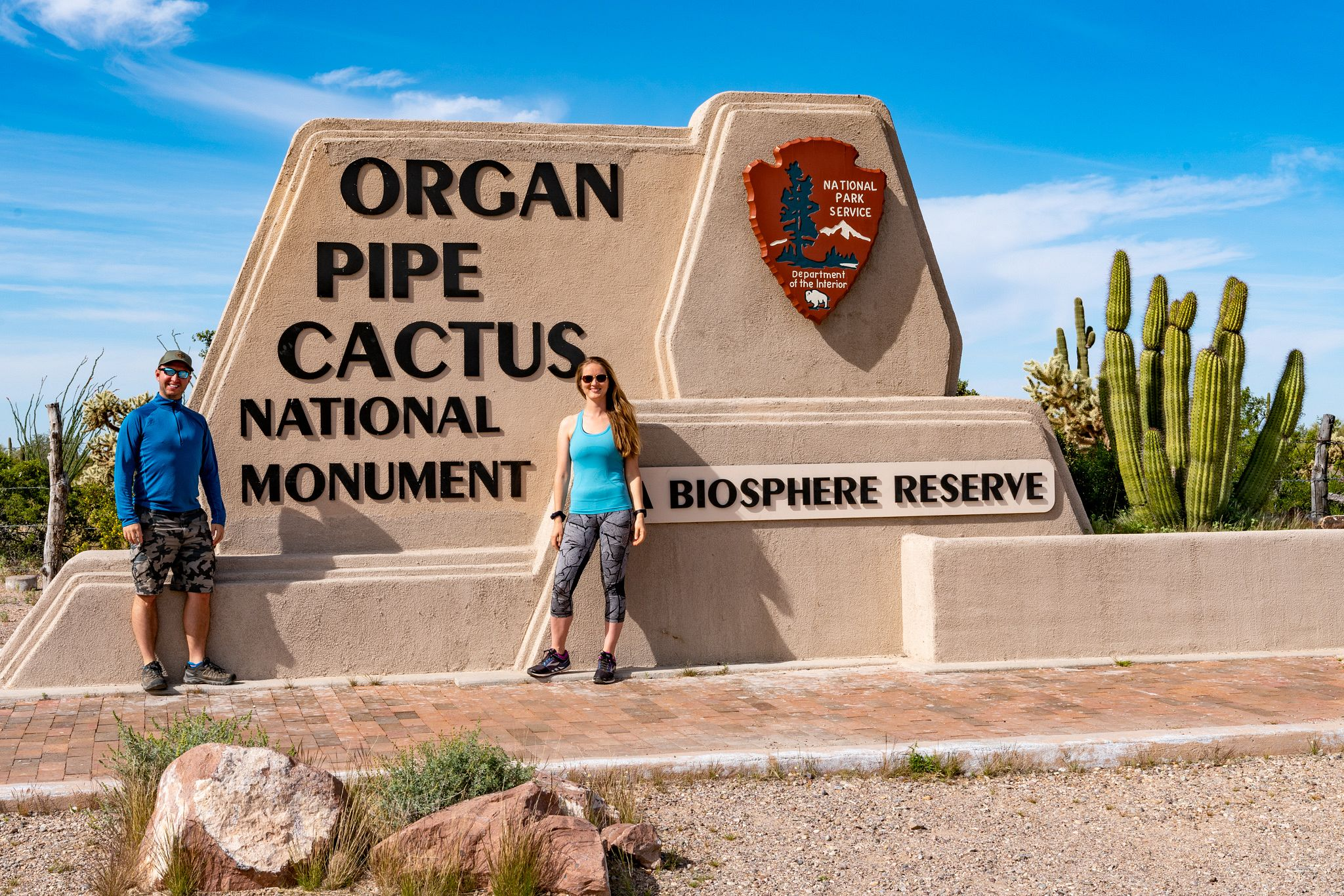 Entrance to Organ Pipe Cactus National Monument