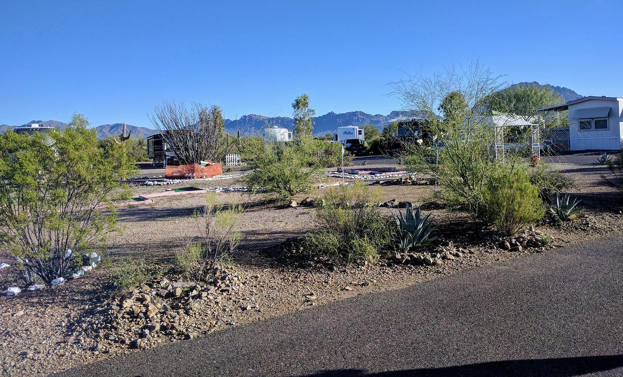 Justin's Diamond J RV Park in Tucson, Arizona