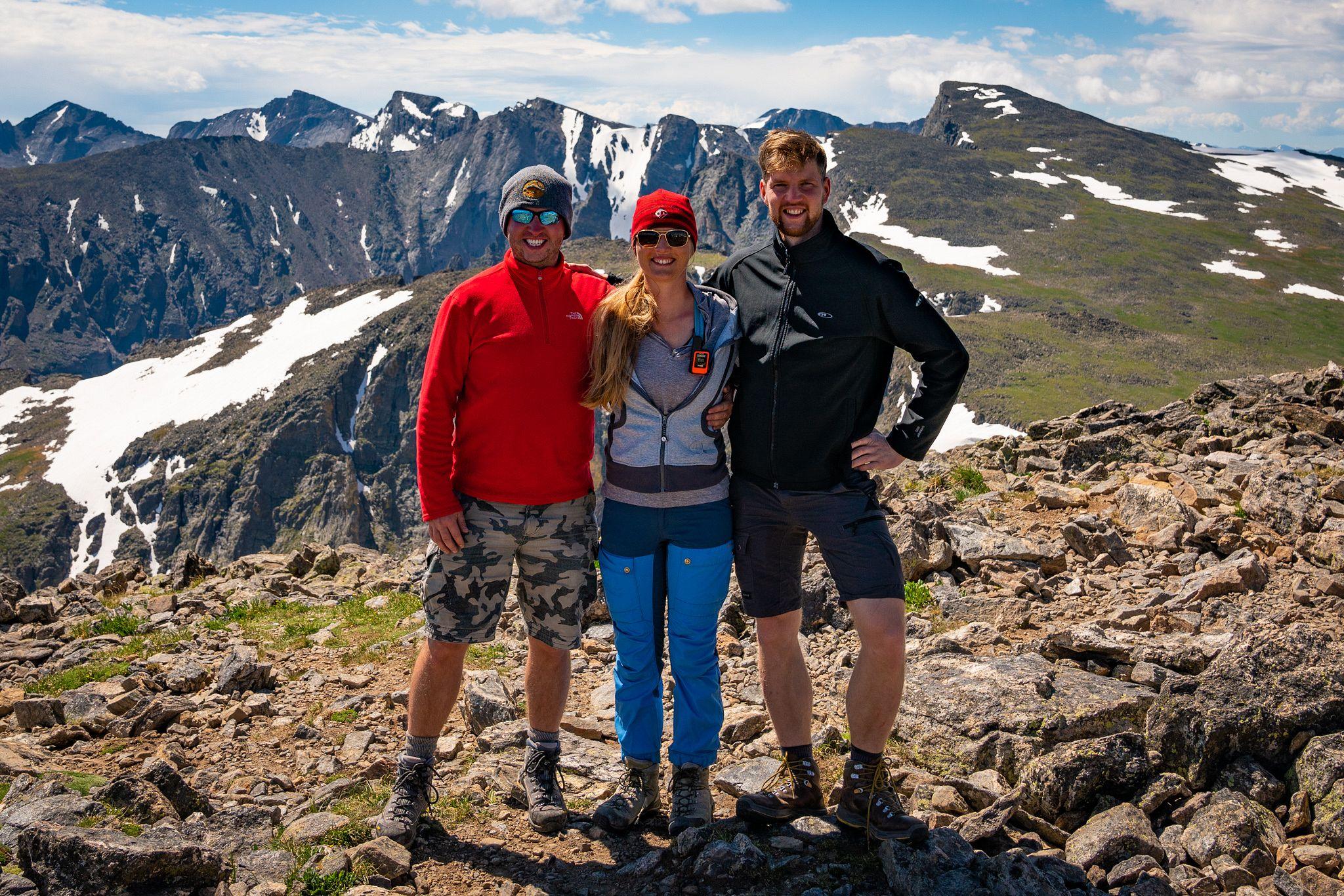 Hallett Peak Summit