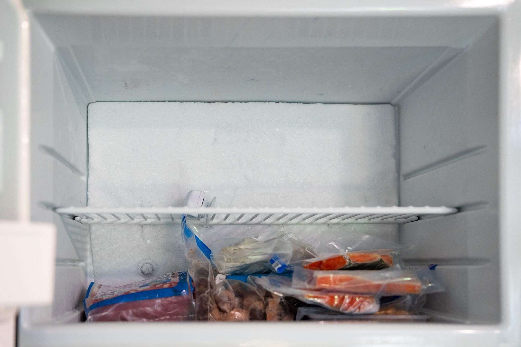 RV Freezer Ice Buildup