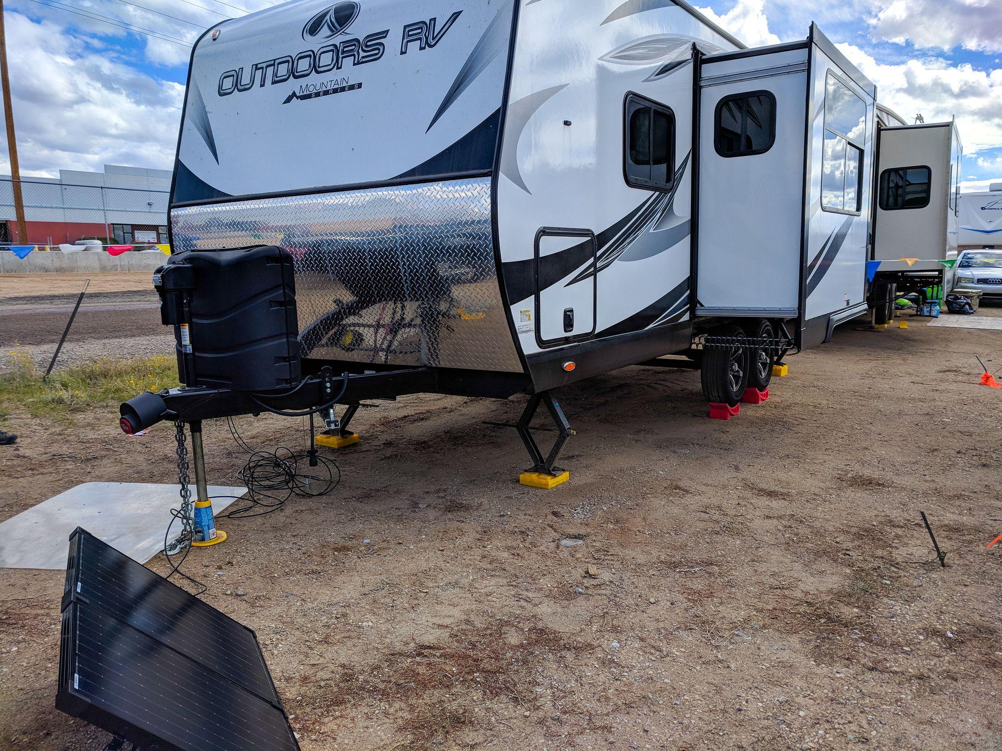 Portable Solar Panel at Albuquerque International Balloon Fiesta