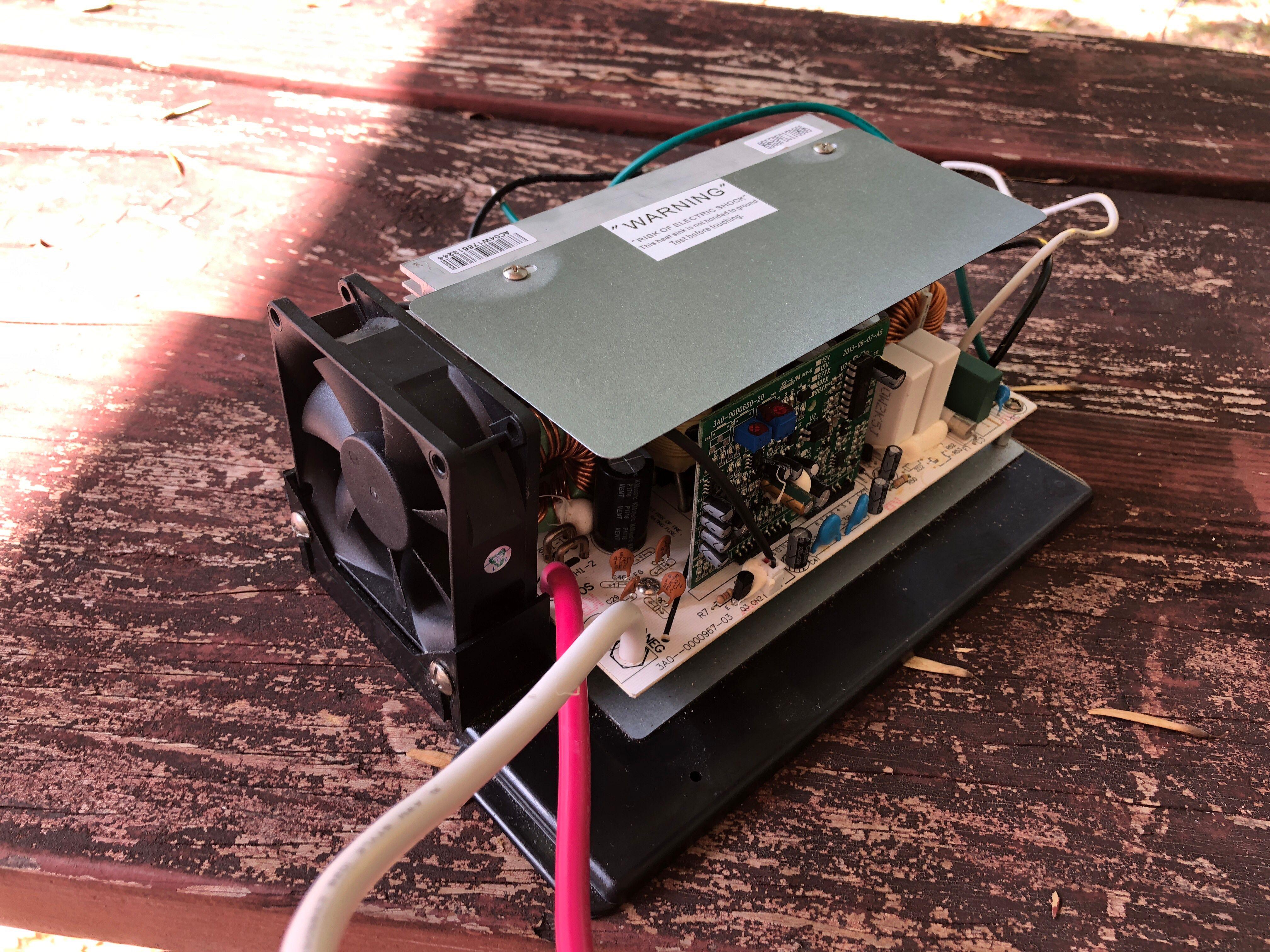 RV 12V Converter-Charger