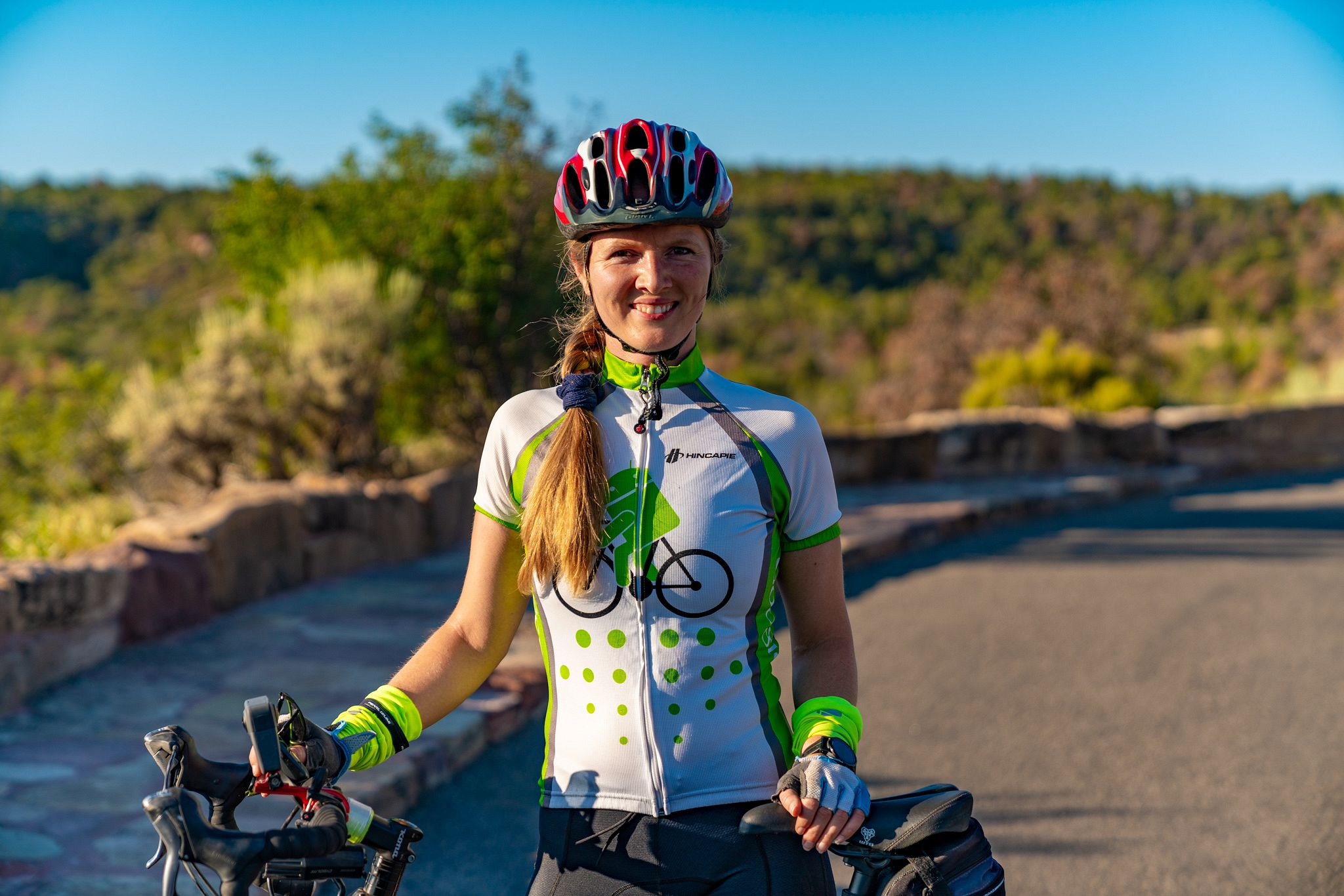 Cycling the Rim Rock Drive in Colorado National Monument