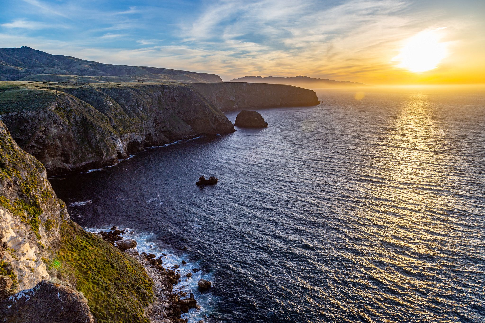 Channel Islands Sunset