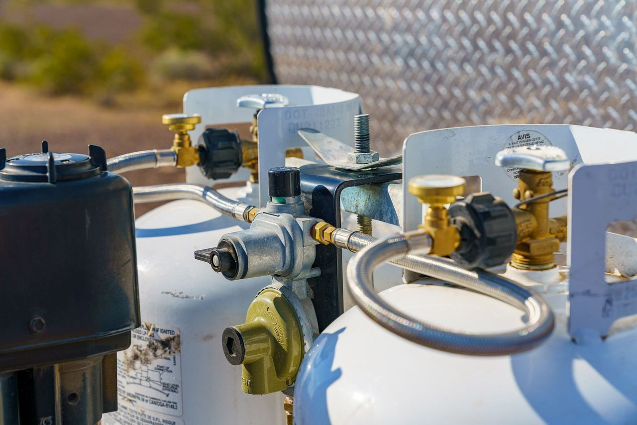 Installing a High Capacity Propane Regulator