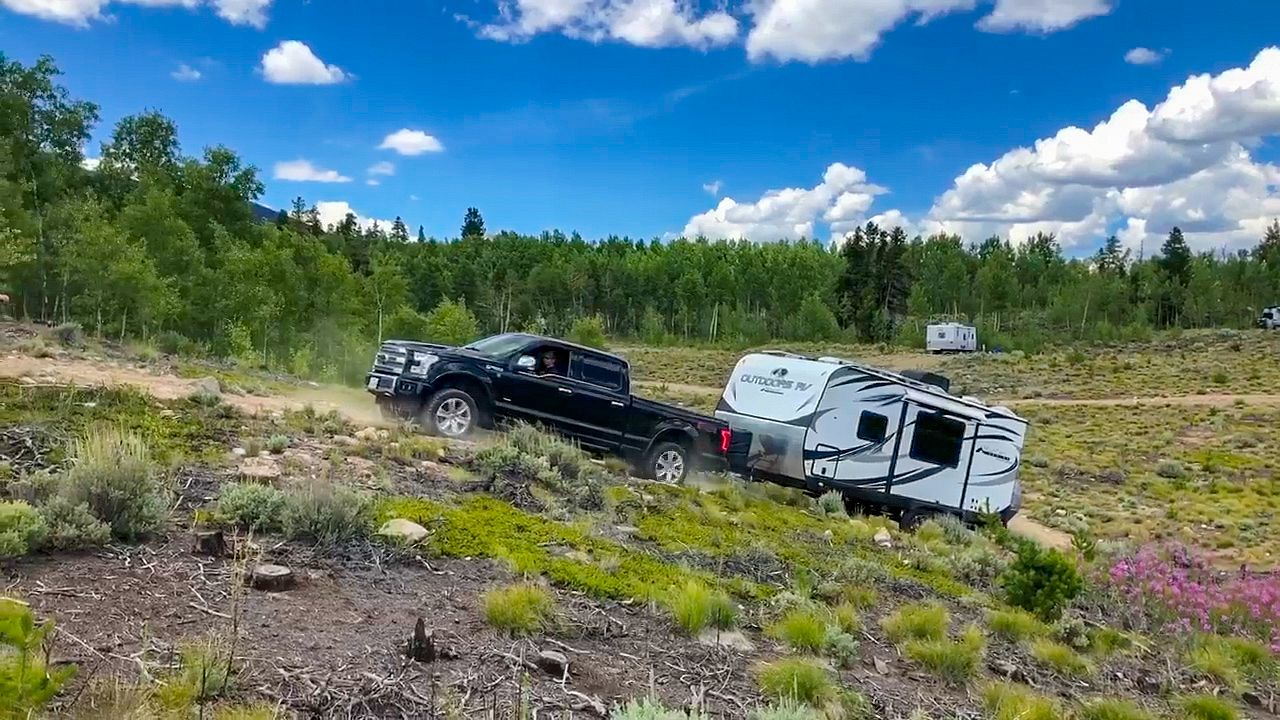 Off-Roading with our Outdoors RV 21RBS