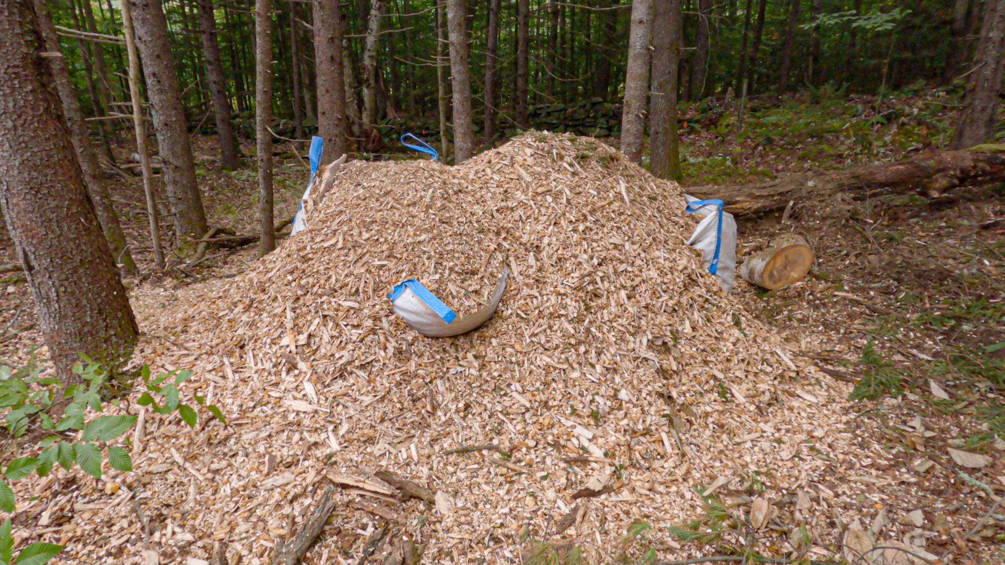 Wood Chips Yard Bags