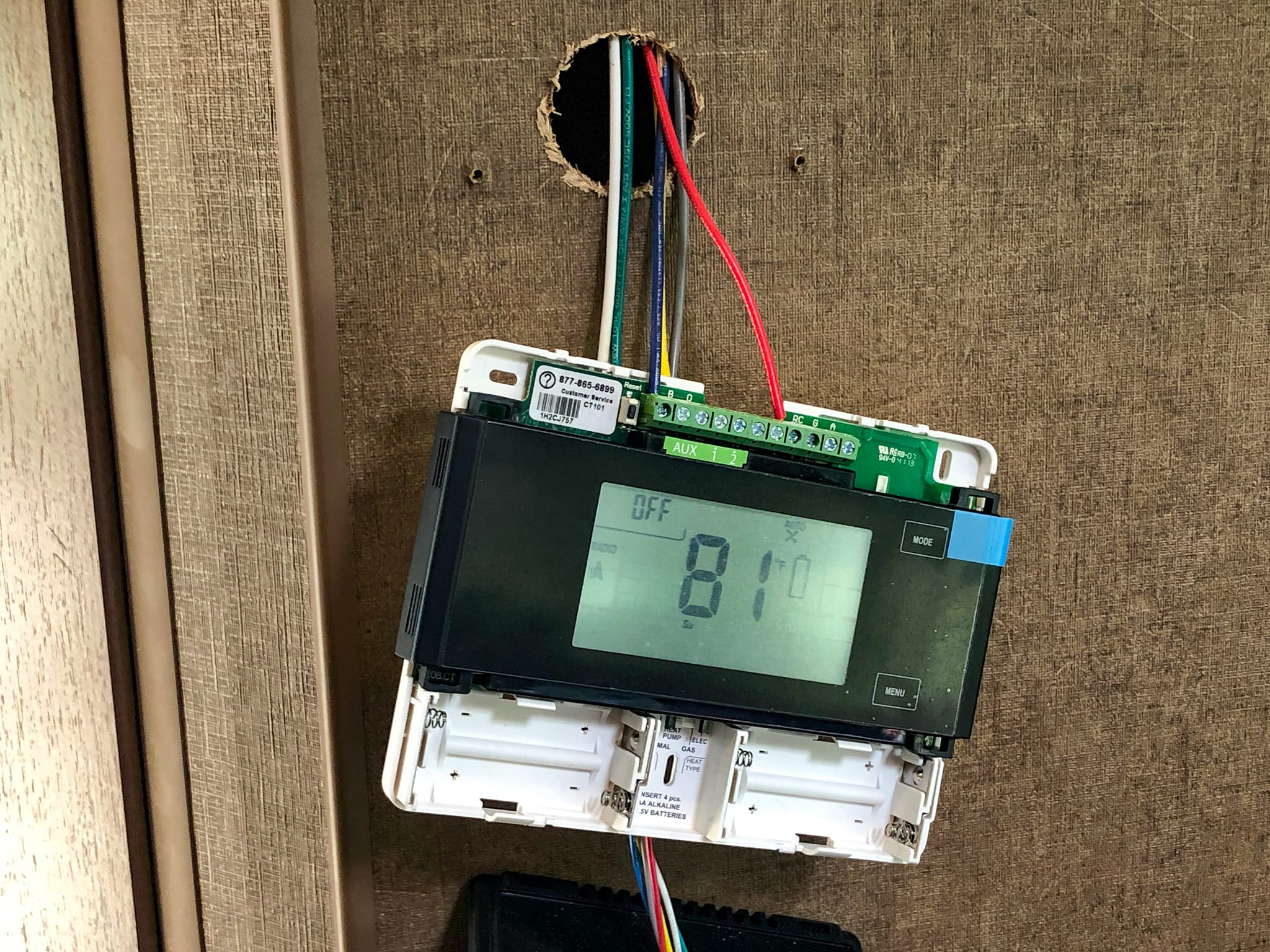 Powering the Thermostat