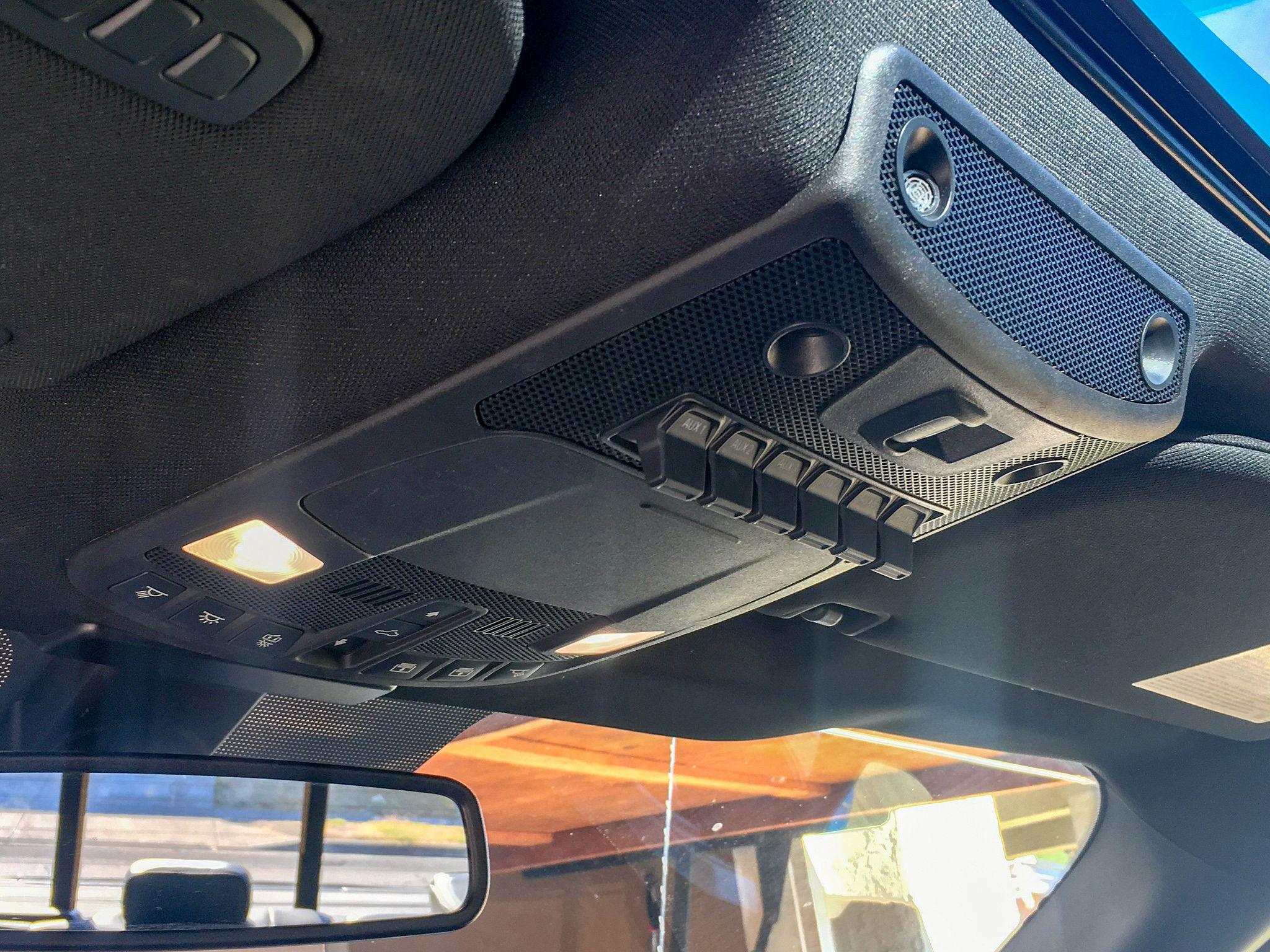 F-150 Upfitter Switches
