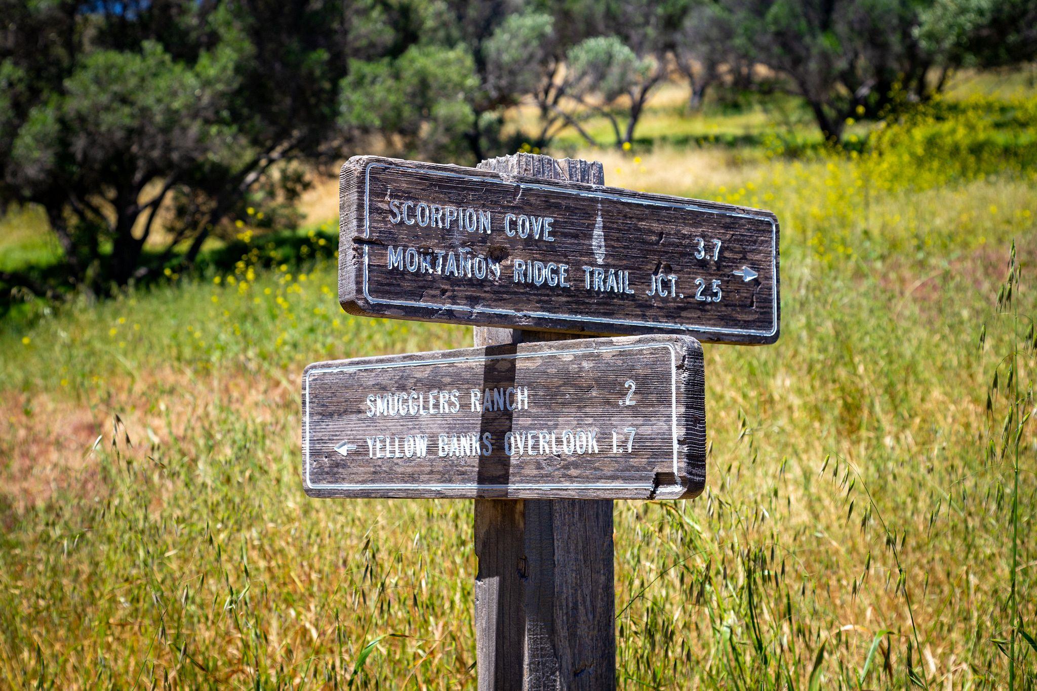 Smugglers Cove Loop Trail