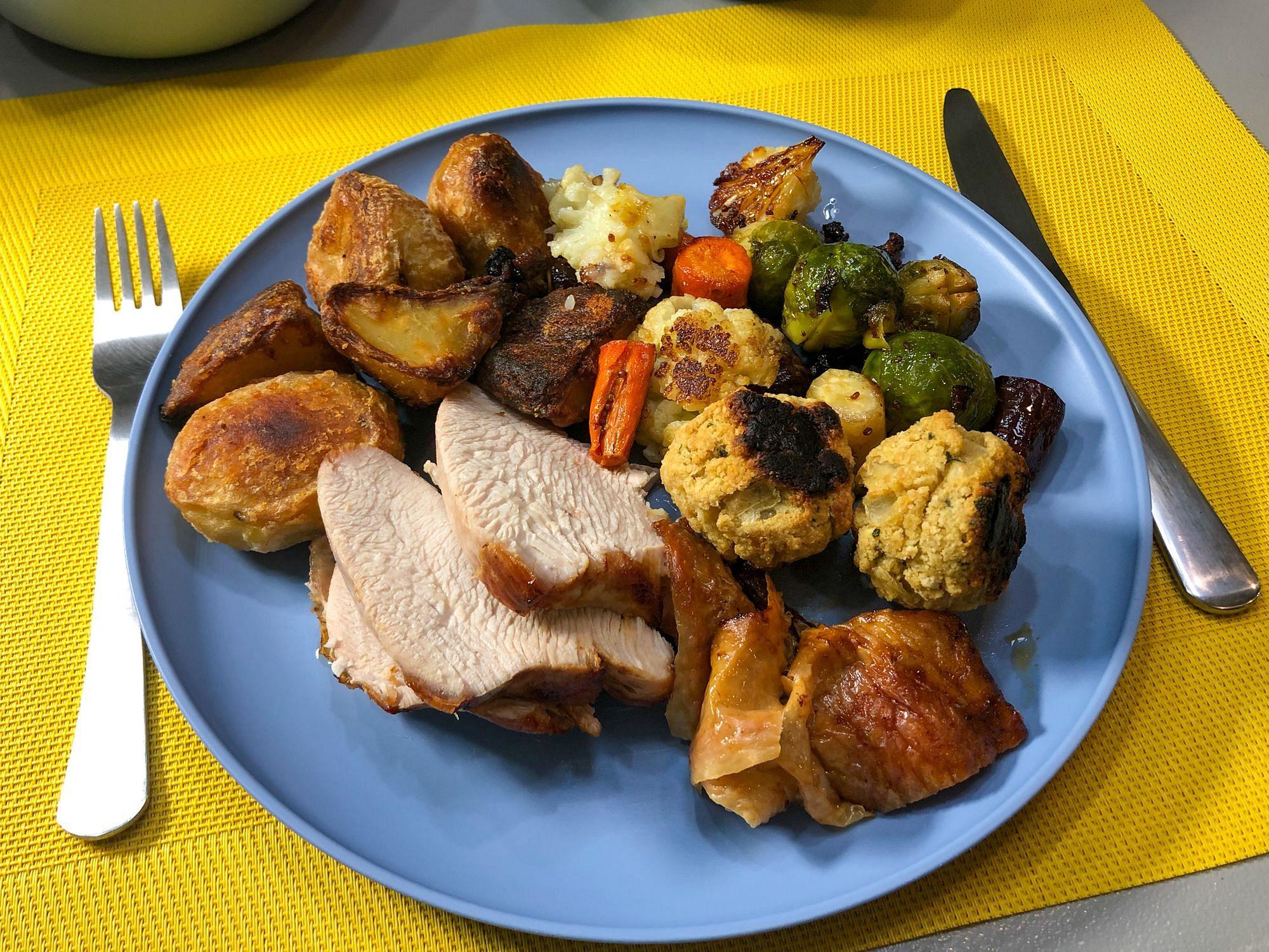 Roast Turkey Air Fryer