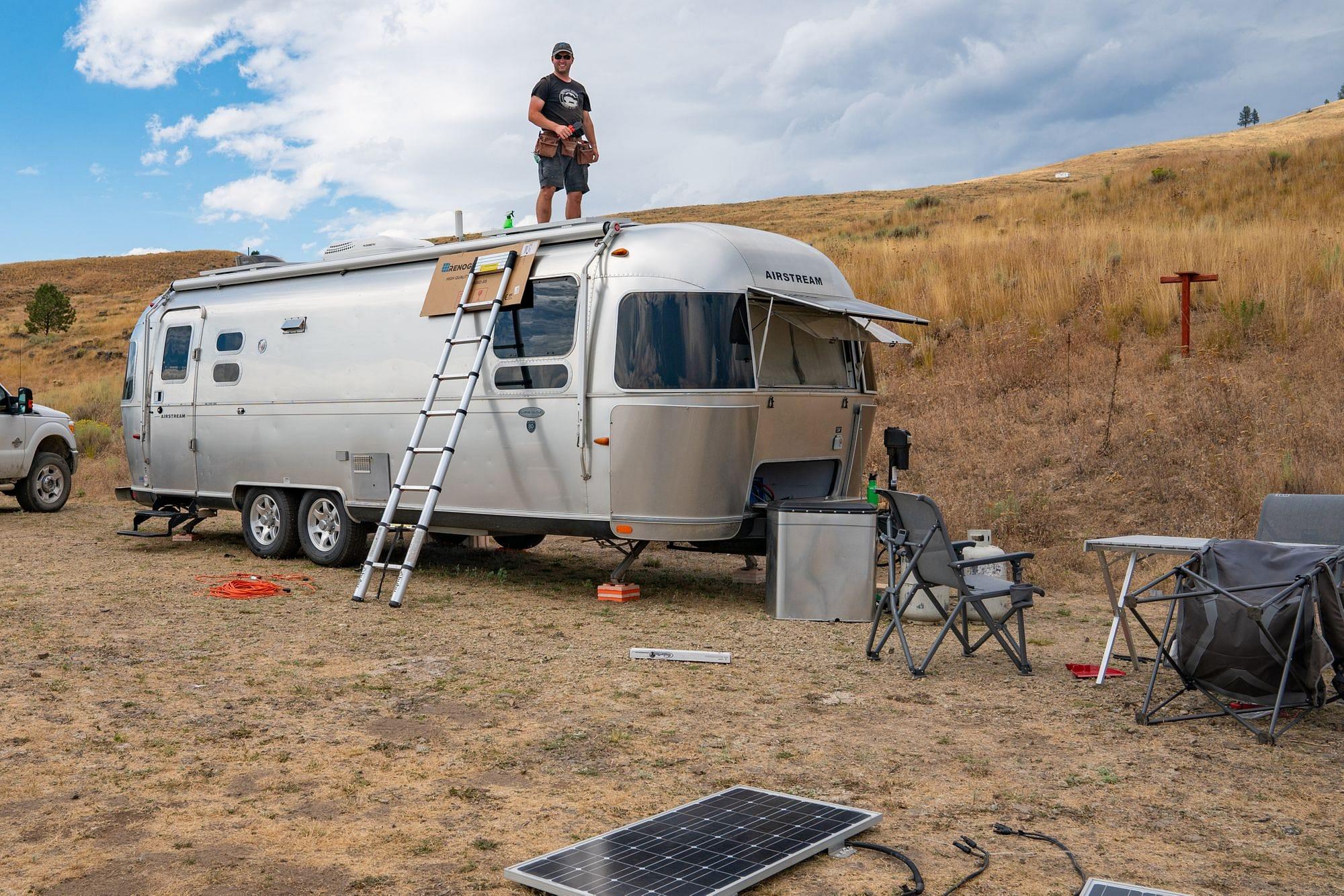 Airstream Solar Install