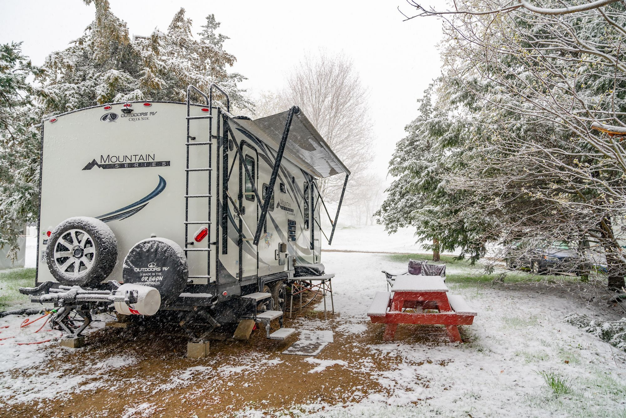 Vermont Snow in April
