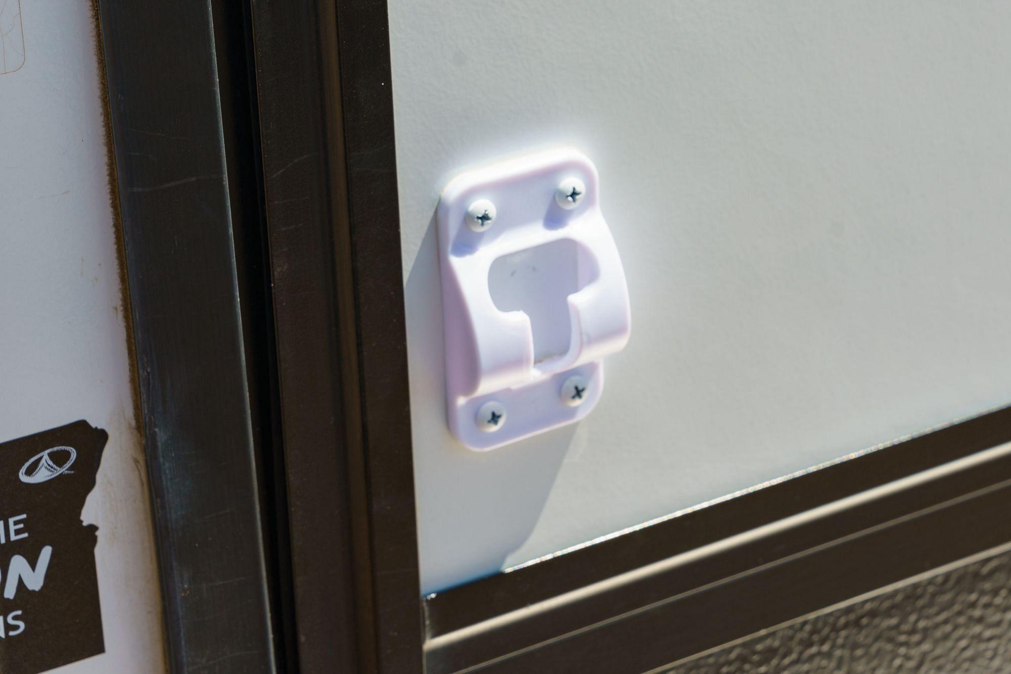 RV Door Keeper Install