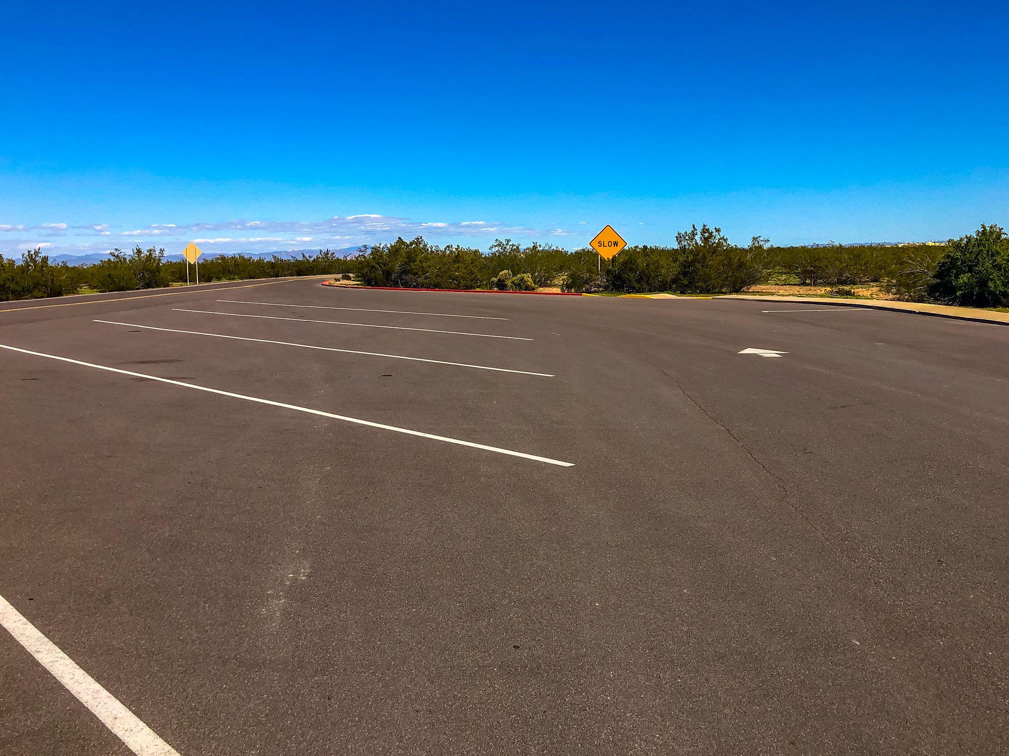 RV Parking at Casa Grande Ruins NM